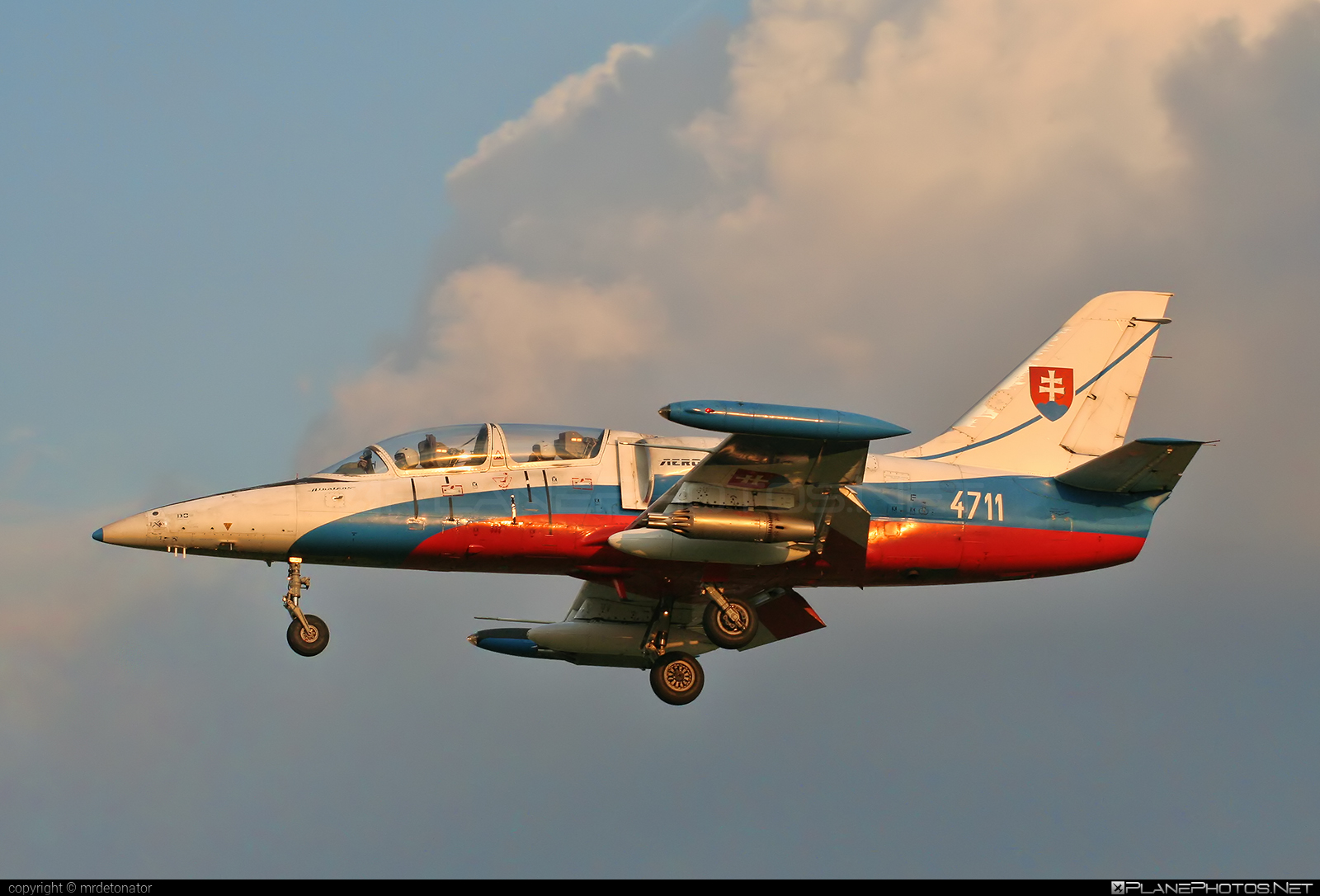Aero L-39ZAM Albatros - 4711 operated by Vzdušné sily OS SR (Slovak Air Force) #aero #aerol39 #aerol39albatros #aerol39zamalbatros #albatros #l39 #l39zam #l39zamalbatros #slovakairforce #vzdusnesilyossr
