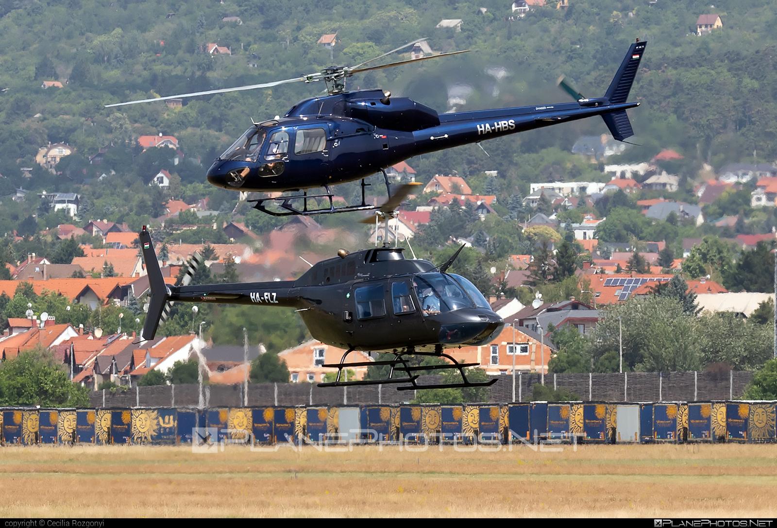 Bell 206B-3 JetRanger III - HA-FLZ operated by Fly-Coop #bell #bellhelicopters #flycoop