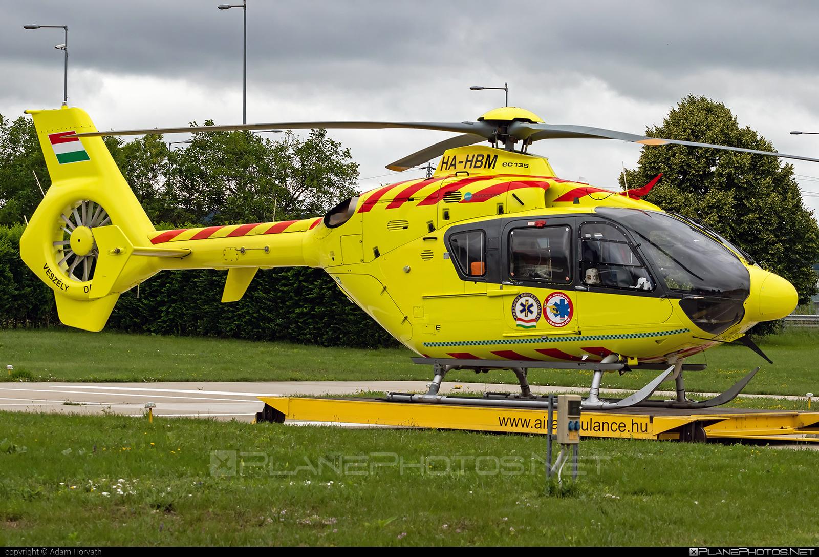 Eurocopter EC135 P2+ - HA-HBM operated by Magyar Légimentő Nonprofit (Hungarian Air Ambulance) #ec135 #ec135p2 #ec135p2plus #eurocopter #hungarianairambulance #magyarlegimentononprofit