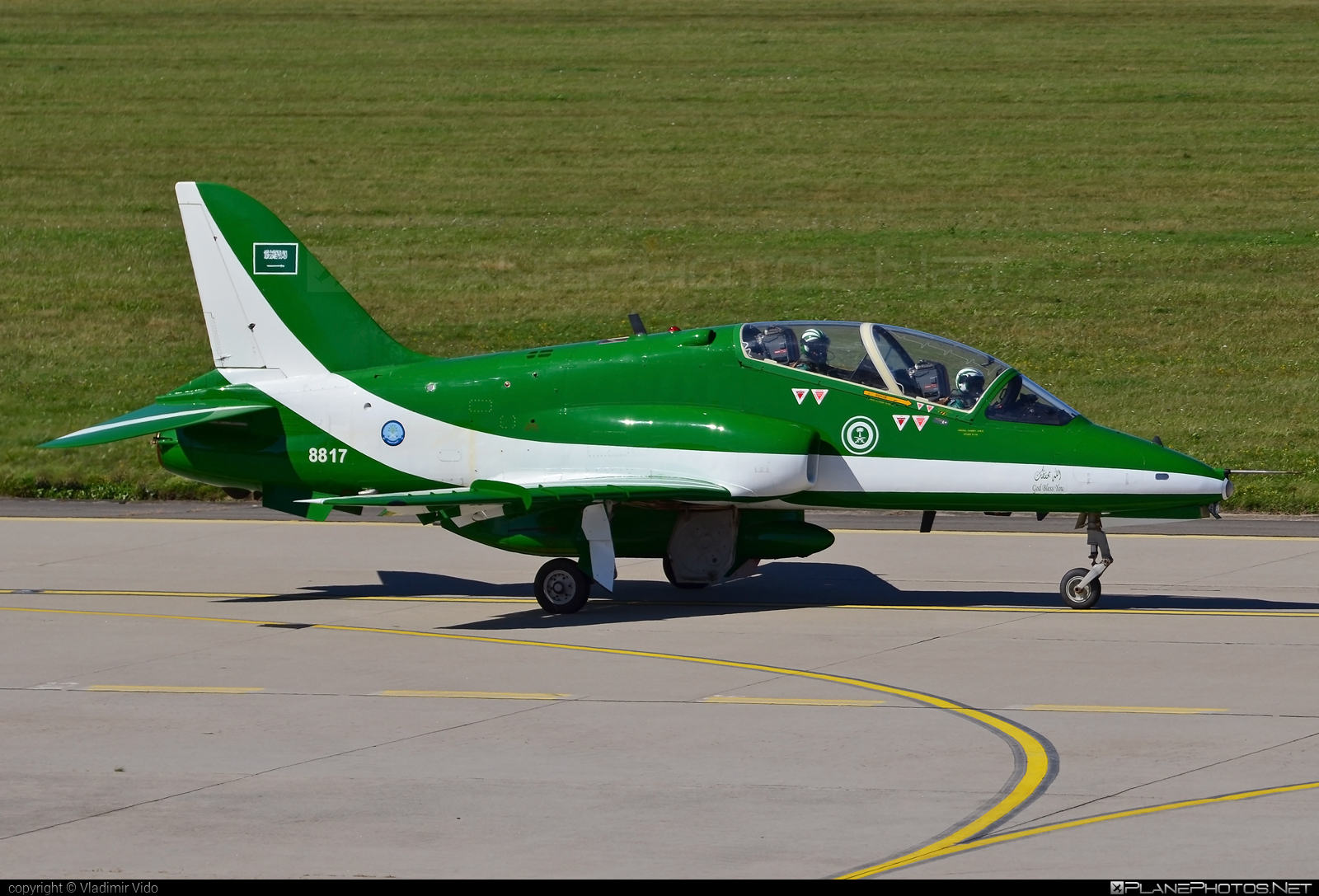 British Aerospace Hawk 65A - 8817 operated by Royal Saudi Air Force #britishaerospace