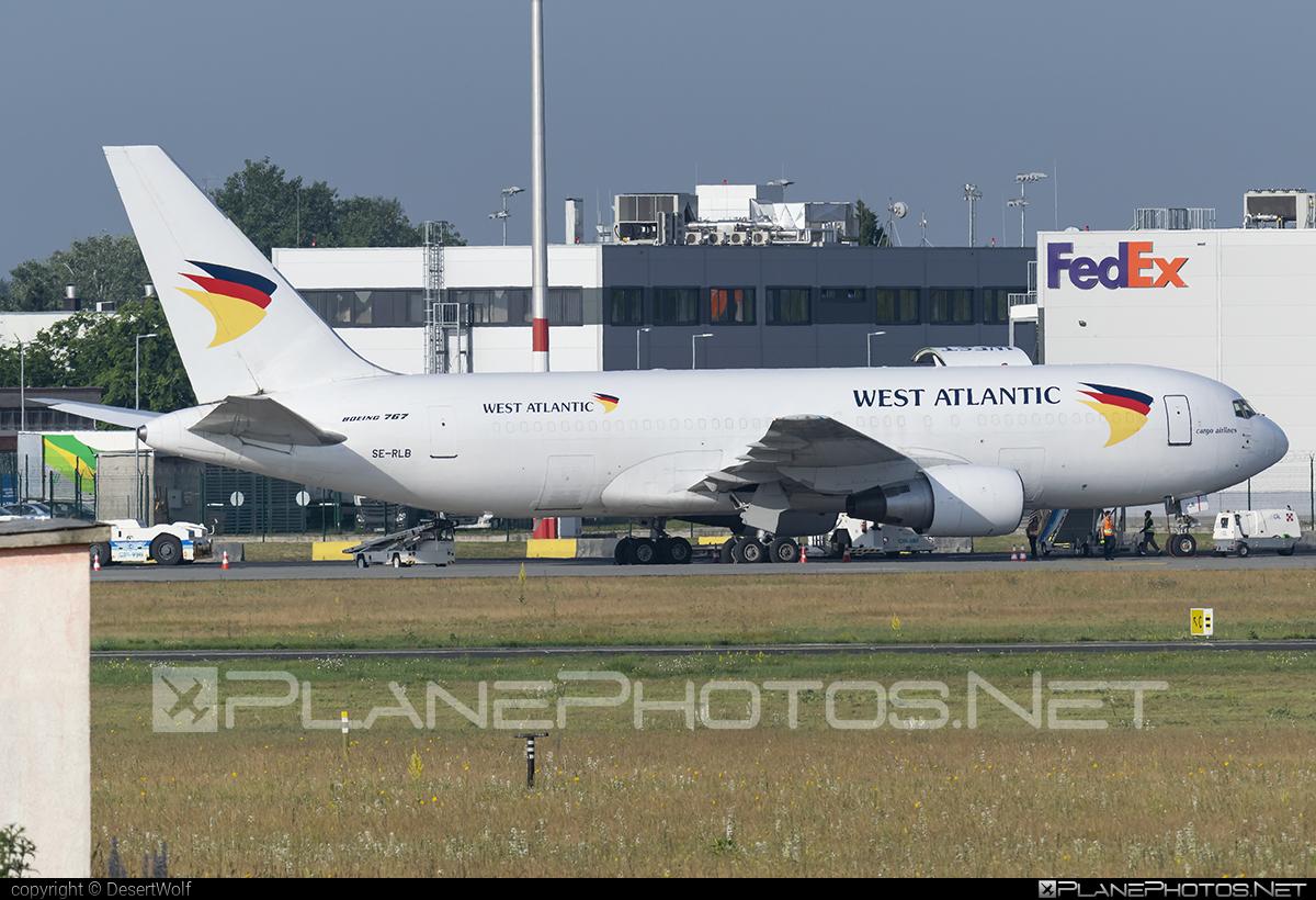 Boeing 767-200BDSF - SE-RLB operated by West Atlantic #b767 #b767200bdsf #b767bdsf #bedekspecialfreighter #boeing #boeing767 #westatlantic