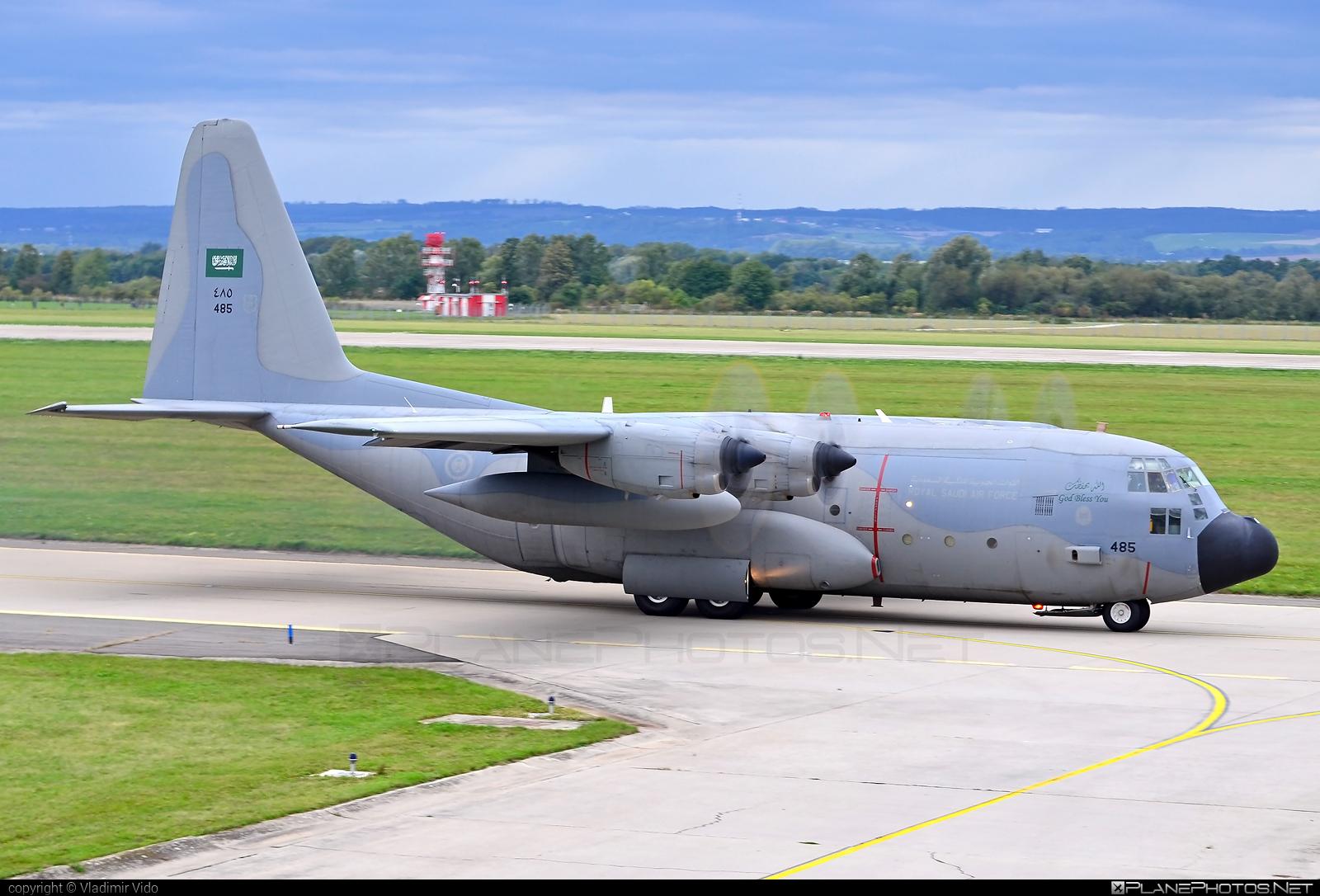 Lockheed C-130H Hercules - 485 operated by Royal Saudi Air Force #lockheed