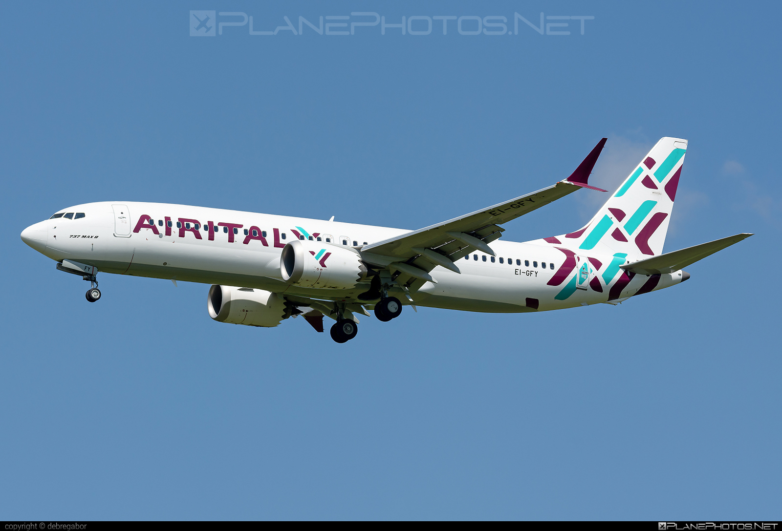 Boeing 737-8 MAX - EI-GFY operated by Air Italy #b737 #b737max #boeing #boeing737