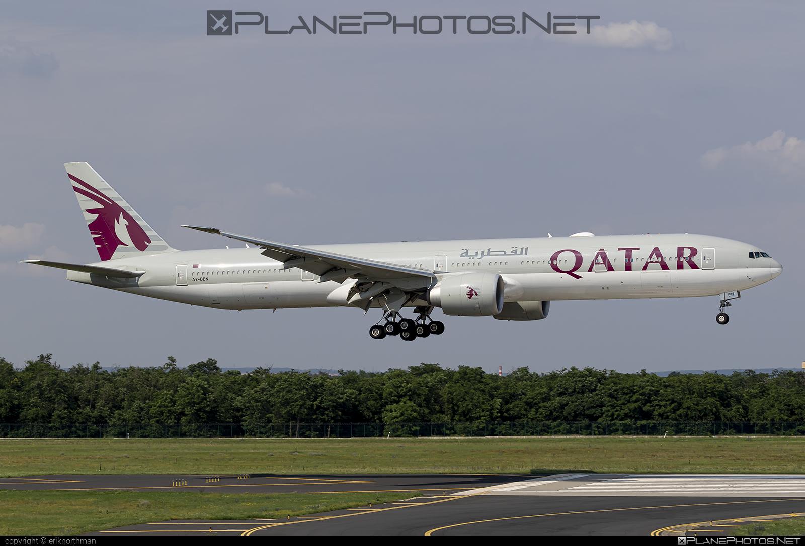 Boeing 777-300ER - A7-BEN operated by Qatar Airways #b777 #b777er #boeing #boeing777 #qatarairways #tripleseven