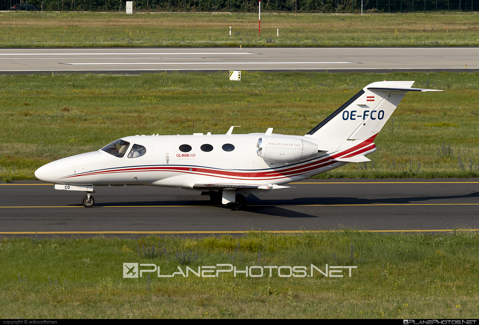 Cessna 510 Citation Mustang - OE-FCO operated by GlobeAir #cessna #globeair