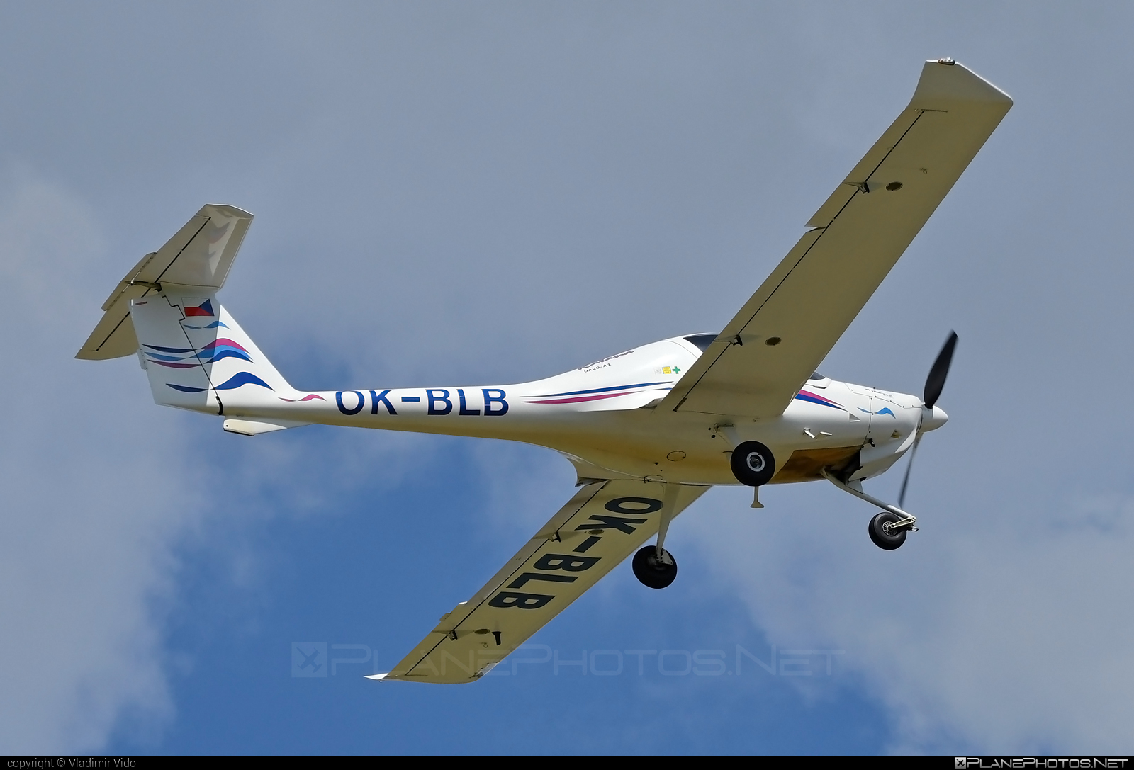 Diamond DA20-A1 Katana - OK-BLB operated by Alfa air s.r.o. #alfaair #da20 #da20a1 #da20a1katana #da20katana #diamond