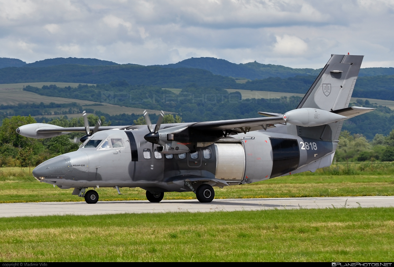 Let L-410UVP-E20 Turbolet - 2818 operated by Vzdušné sily OS SR (Slovak Air Force) #let #slovakairforce #vzdusnesilyossr