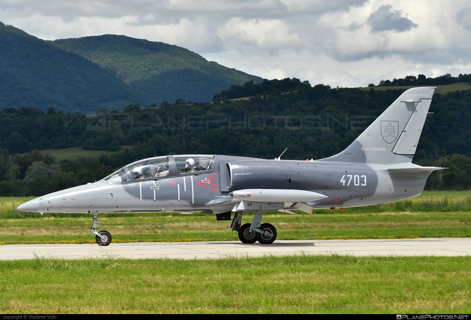 Aero L-39ZAM Albatros - 4703 operated by Vzdušné sily OS SR (Slovak Air Force) #aero #aerol39 #aerol39albatros #aerol39zamalbatros #albatros #l39 #l39zam #l39zamalbatros #slovakairforce #vzdusnesilyossr