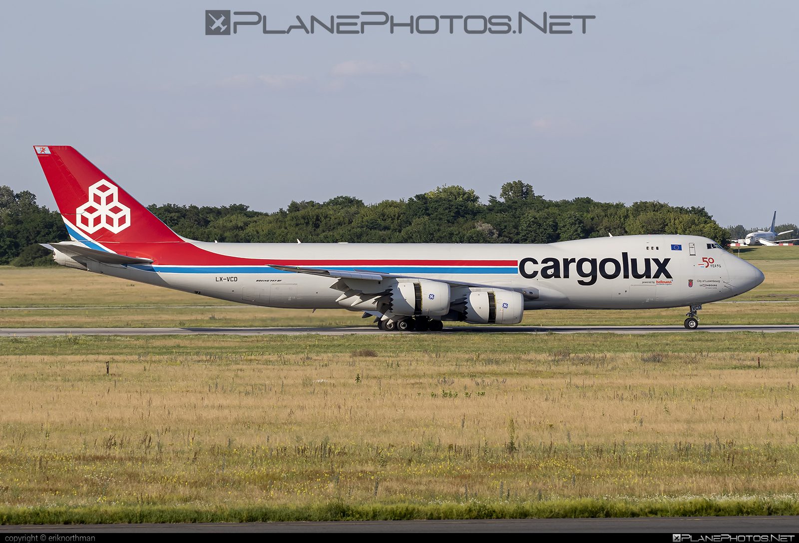 Boeing 747-8F - LX-VCD operated by Cargolux Airlines International #b747 #b747f #b747freighter #boeing #boeing747 #cargolux #jumbo