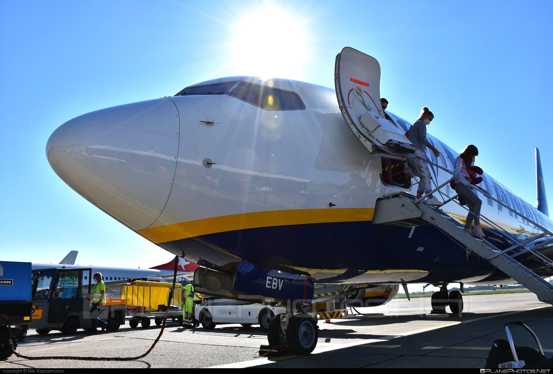 Boeing 737-800 - EI-EBV operated by Ryanair #b737 #b737nextgen #b737ng #boeing #boeing737 #ryanair