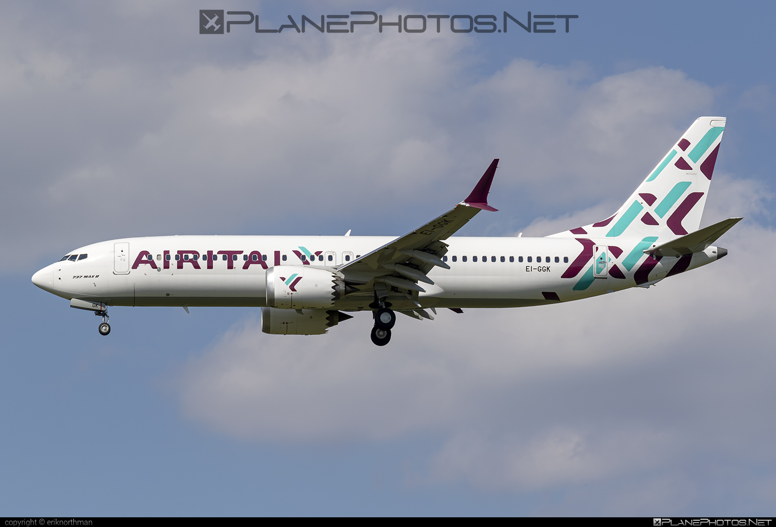 Boeing 737-8 MAX - EI-GGK operated by Air Italy #b737 #b737max #boeing #boeing737