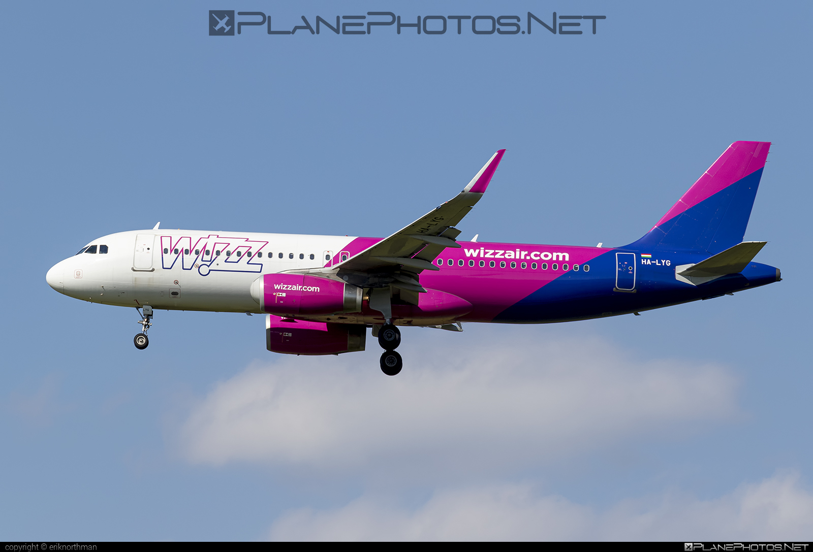 Airbus A320-232 - HA-LYG operated by Wizz Air #a320 #a320family #airbus #airbus320 #wizz #wizzair