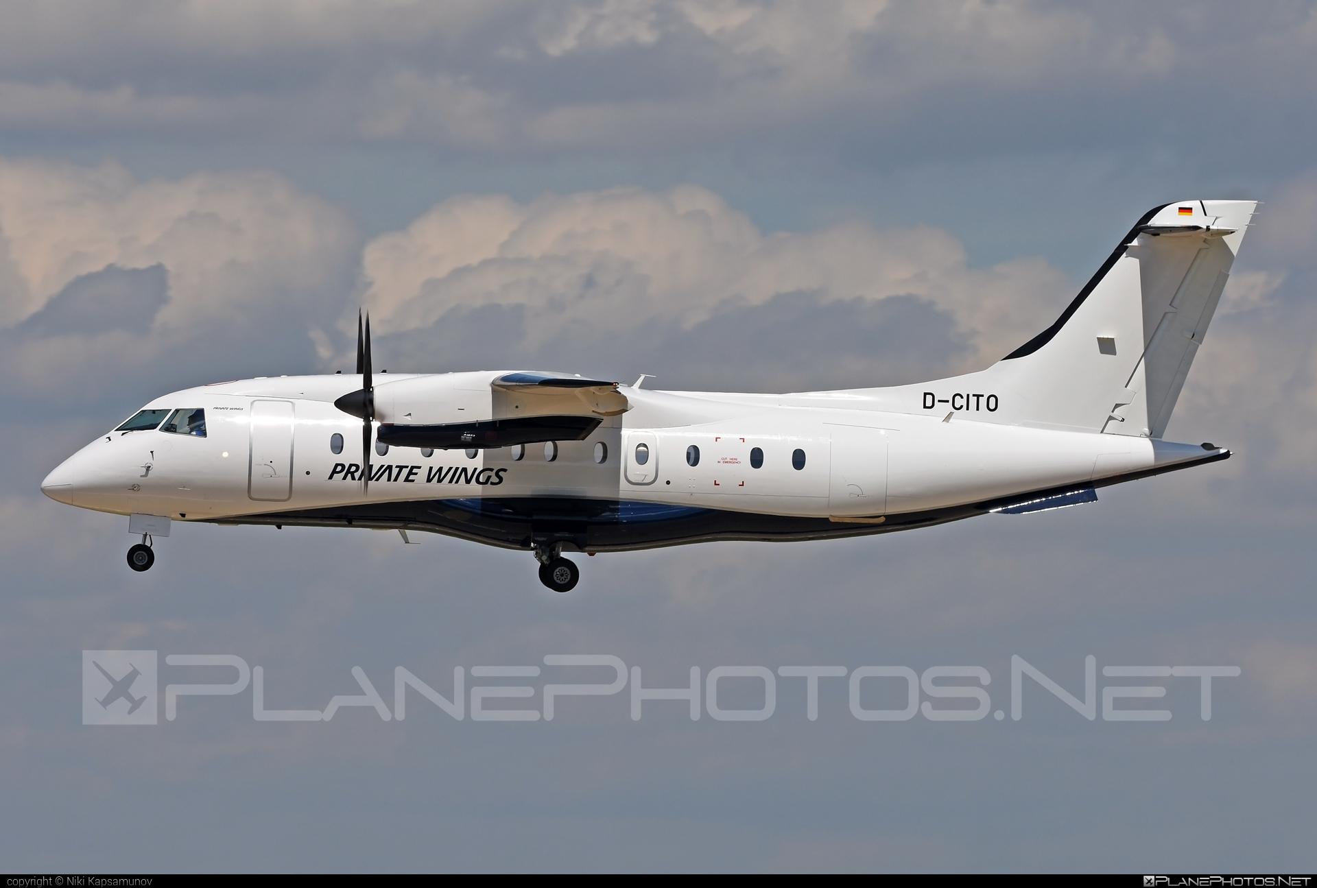 Dornier 328-110 - D-CITO operated by Private Wings #dornier