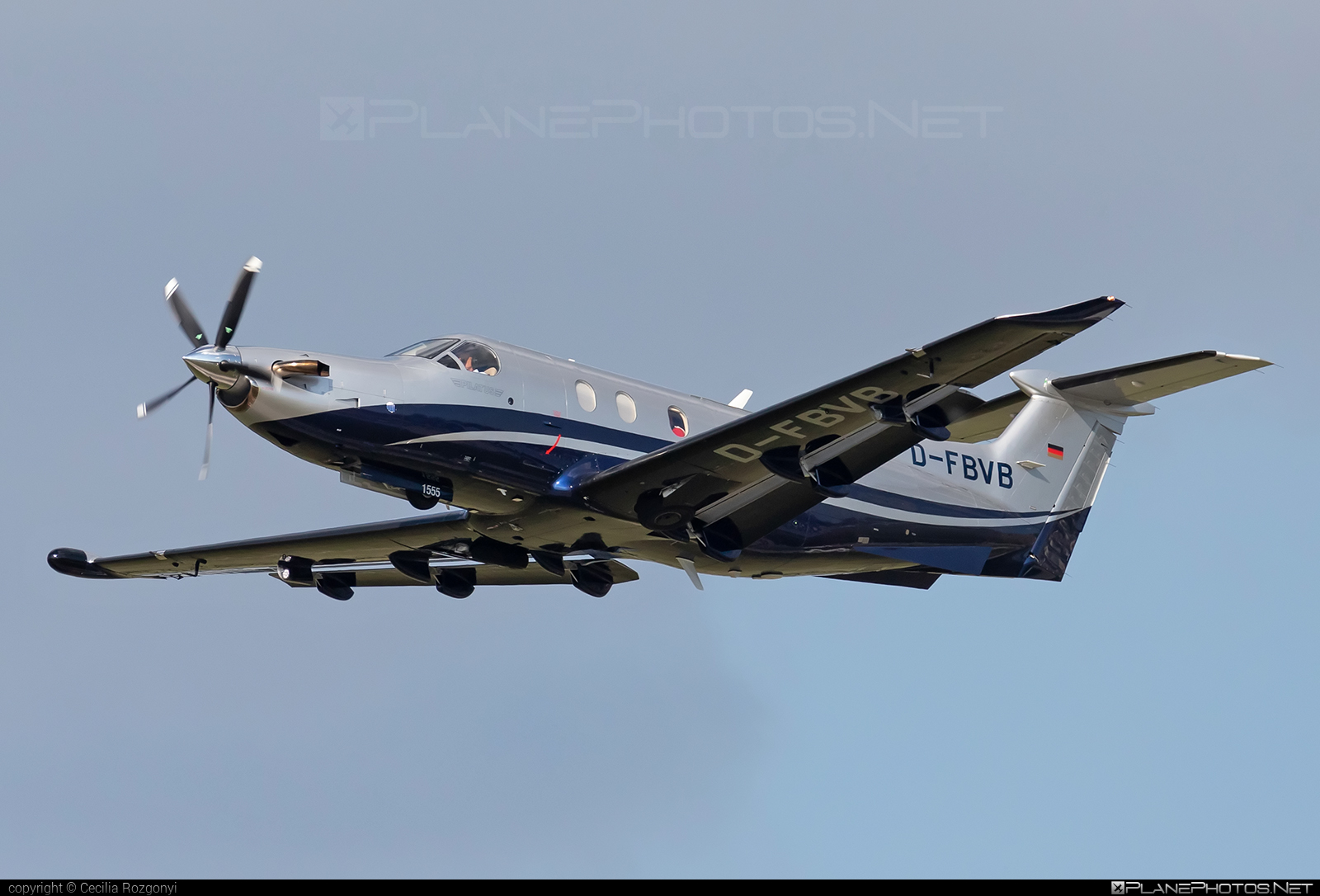 Pilatus PC-12/45 - D-FBVB operated by Private operator #pilatus