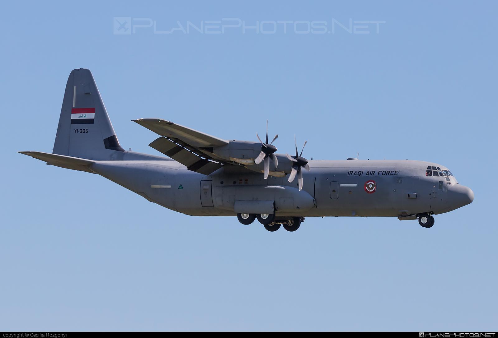 Lockheed Martin C-130J-30 Super Hercules - YI-305 operated by Al Quwwat al Jawwiya al Iraqiya (Iraqi Air Force) #alquwwataljawwiyaaliraqiya #c130 #c130j #c130j30 #iraqiairforce #lockheedmartin #superhercules