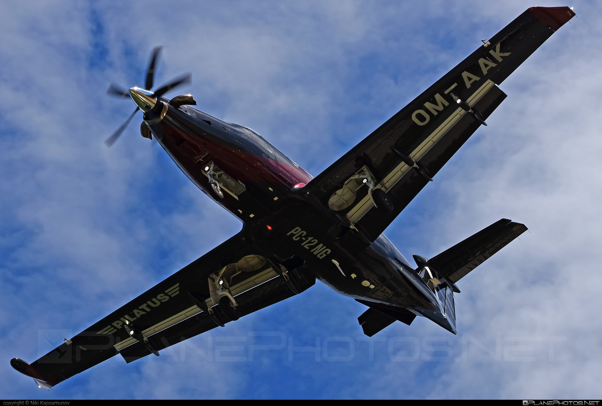 Pilatus PC-12/47E - OM-AAK operated by Elite Jet #pilatus