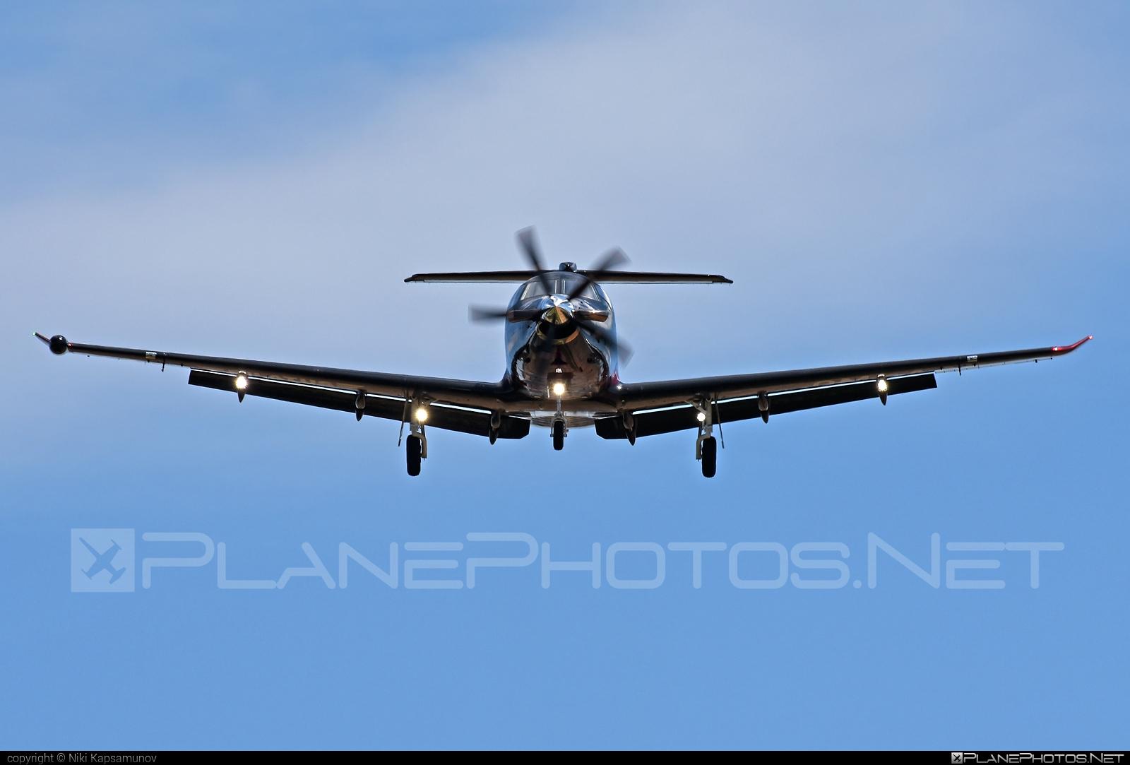 Pilatus PC-12/47E - OM-AAK operated by Elite Jet #pilatus