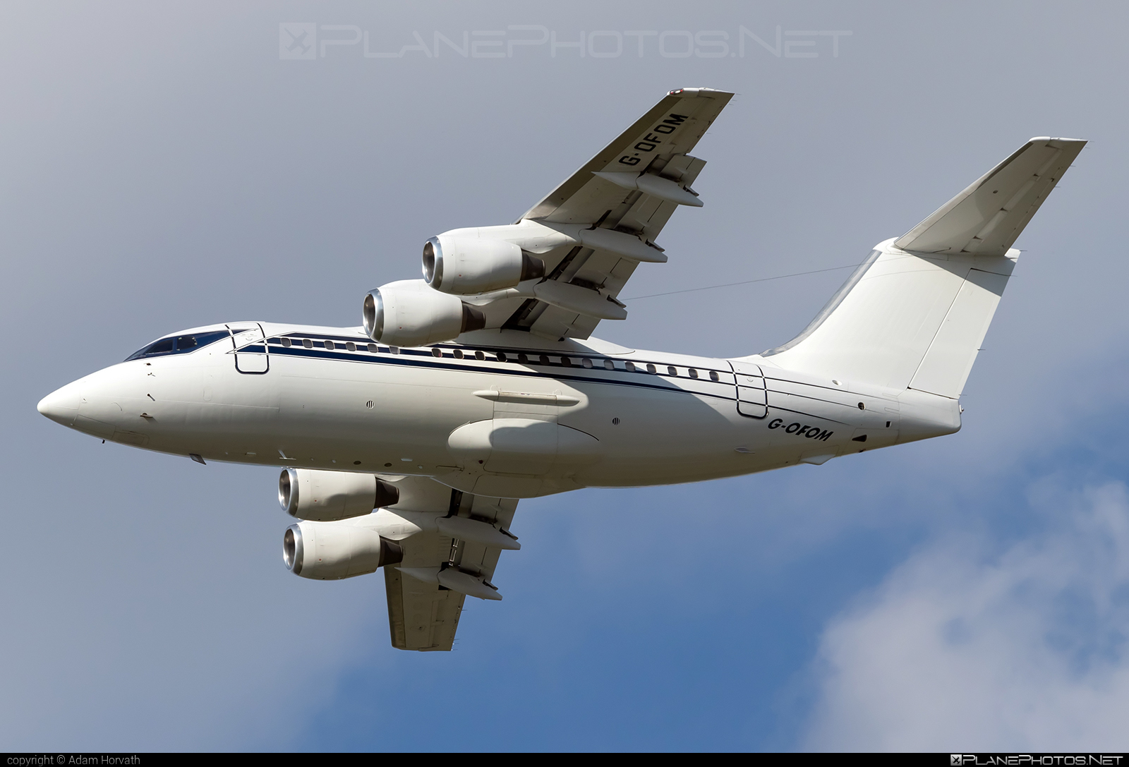 British Aerospace BAe 146-100 - G-OFOM operated by Formula One Management Ltd #bae146 #bae146100 #britishaerospace #formulaonemanagement