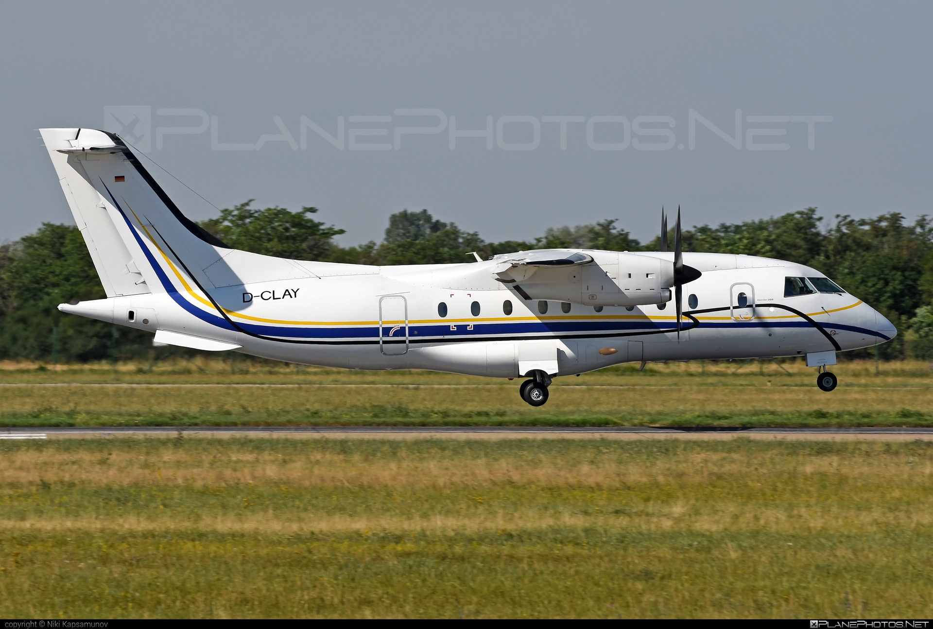 Dornier 328-110 - D-CLAY operated by Private Wings #dornier