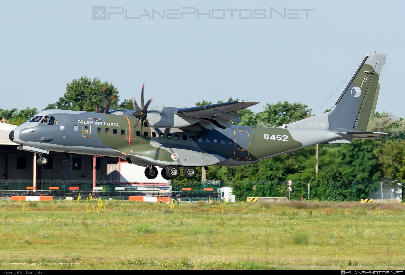CASA 295M - 0452 operated by Vzdušné síly AČR (Czech Air Force) #casa #casa295 #casa295m #czechairforce #vzdusnesilyacr