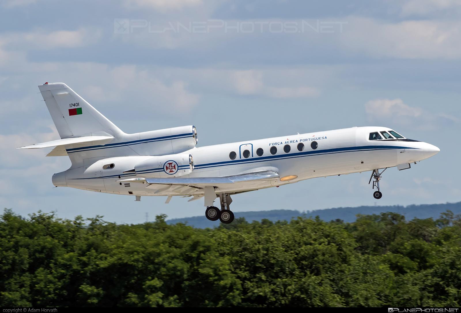 Dassault Falcon 50 - 17401 operated by Força Aérea Portuguesa (Portuguese Air Force) #dassault