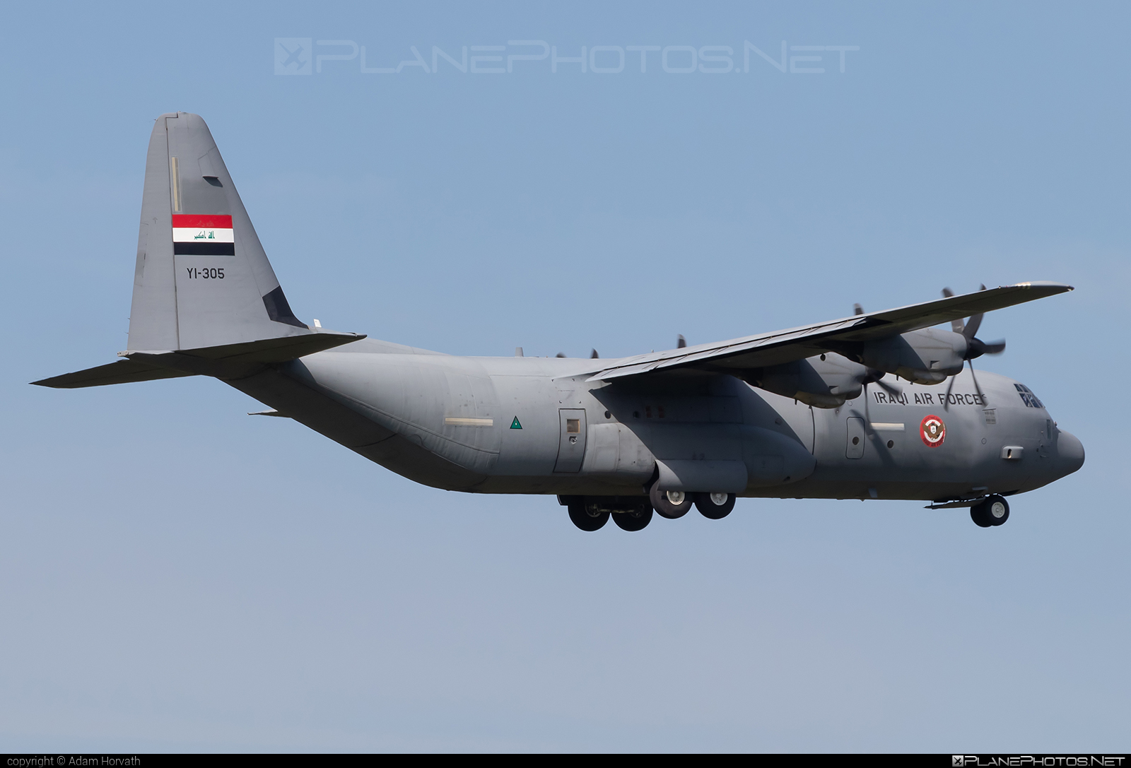 Lockheed Martin C-130J-30 Super Hercules - YI-305 operated by Al Quwwat al Jawwiya al Iraqiya (Iraqi Air Force) #LockheedMartin #alquwwataljawwiyaaliraqiya #c130 #c130j #c130j30 #iraqiairforce #superhercules