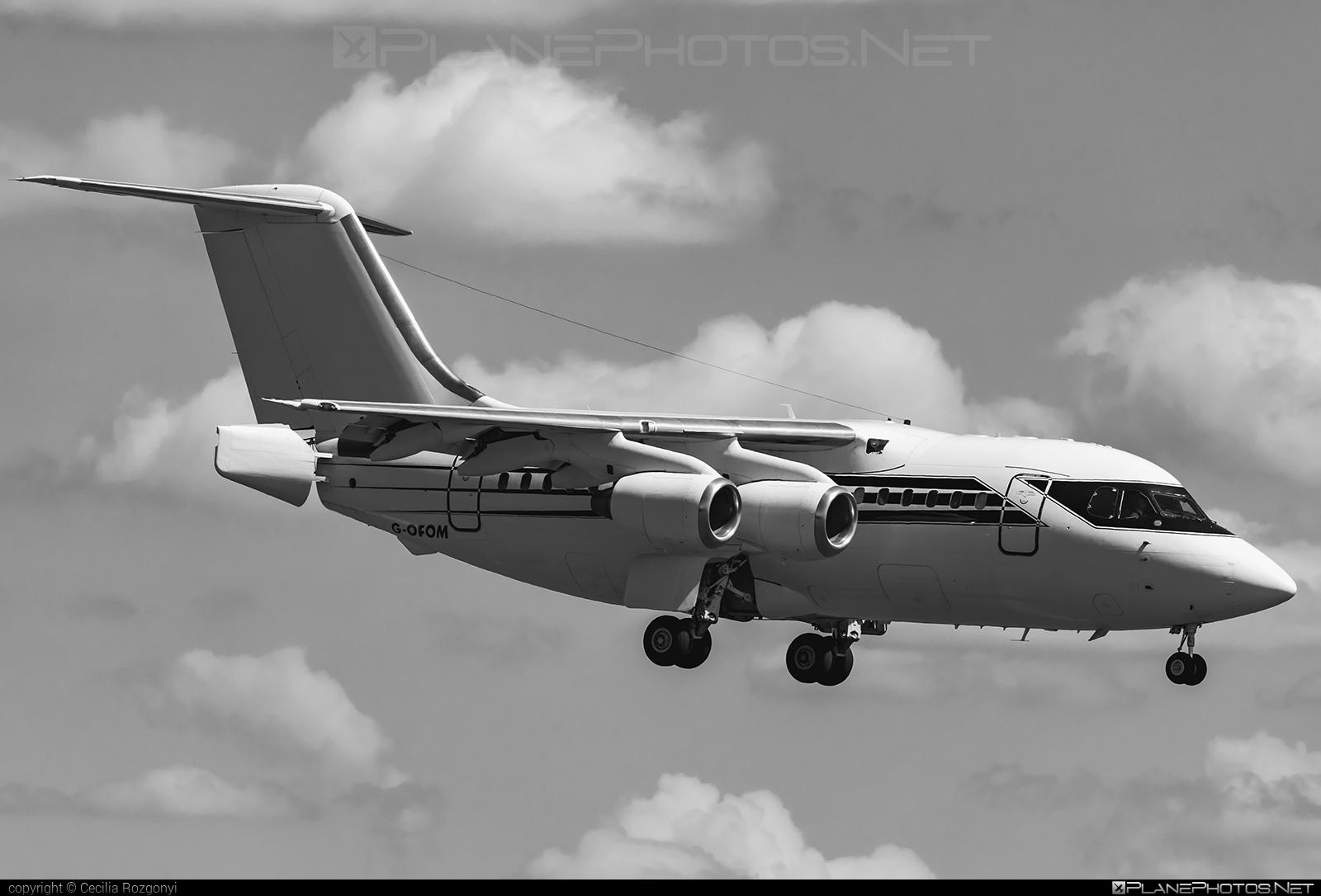 British Aerospace BAe 146-100 - G-OFOM operated by Formula One Management Ltd #bae146 #bae146100 #britishaerospace #formulaonemanagement