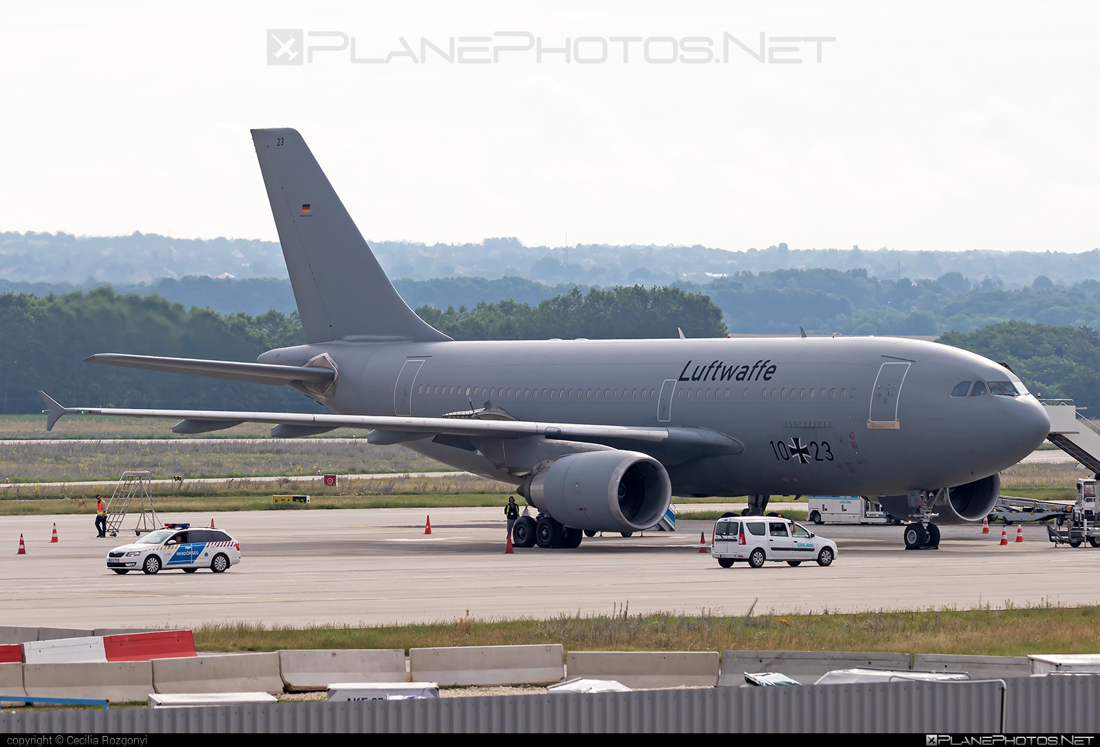 Airbus A310-304 - 10+23 operated by Luftwaffe (German Air Force) #GermanAirForce #a310 #airbus #luftwaffe
