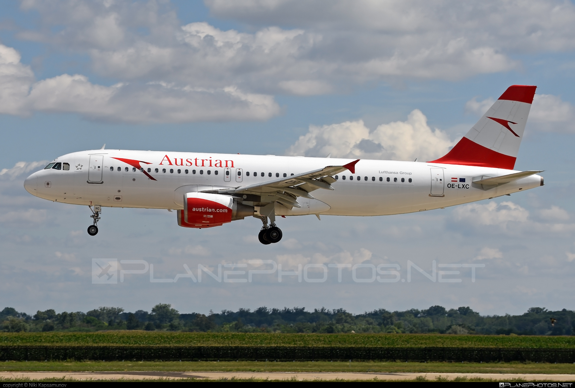 Airbus A320-216 - OE-LXC operated by Austrian Airlines #a320 #a320family #airbus #airbus320