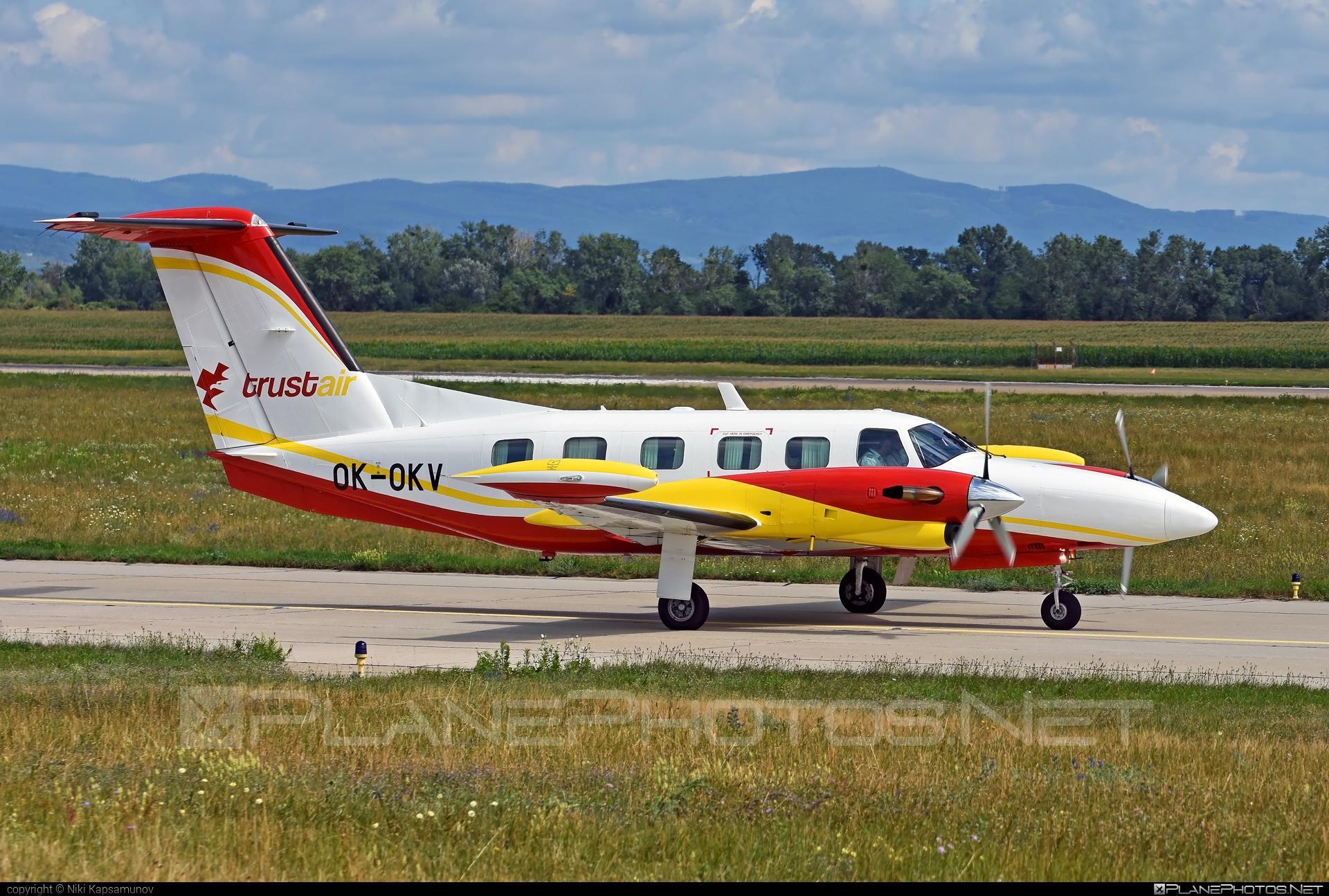 Piper PA-42-720 Cheyenne III - OK-OKV operated by Air Bohemia #airbohemia #piper