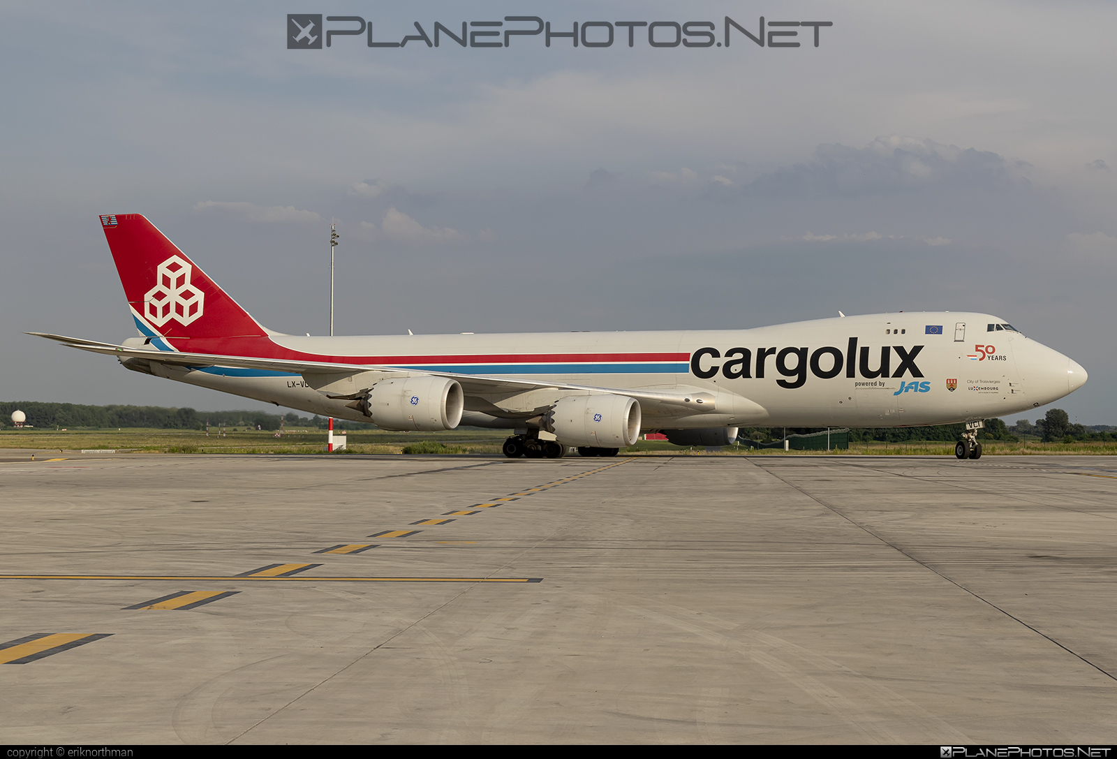 Boeing 747-8 - LX-VCI operated by Cargolux Airlines International #b747 #boeing #boeing747 #cargolux #jumbo