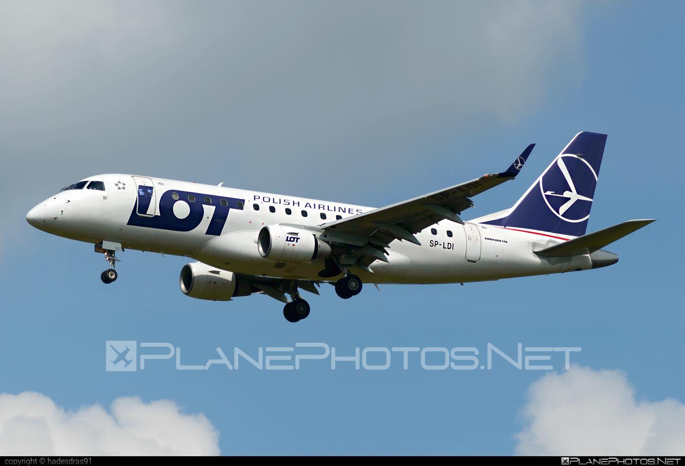 Embraer E170STD (ERJ-170-100STD) - SP-LDI operated by LOT Polish Airlines #e170 #embraer #embraer170 #embraer170std #erj170 #erj170100 #erj170100std #erj170std #lot #lotpolishairlines