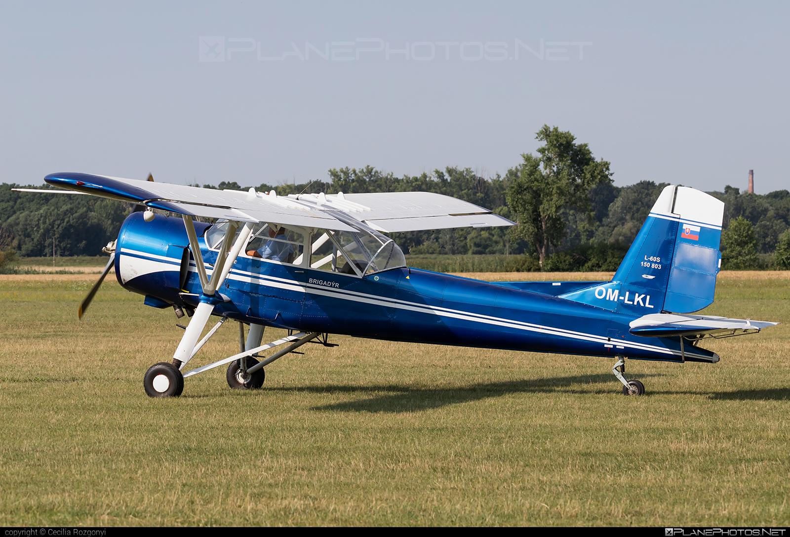 Aero L-60S Brigadýr - OM-LKL operated by Private operator #aero