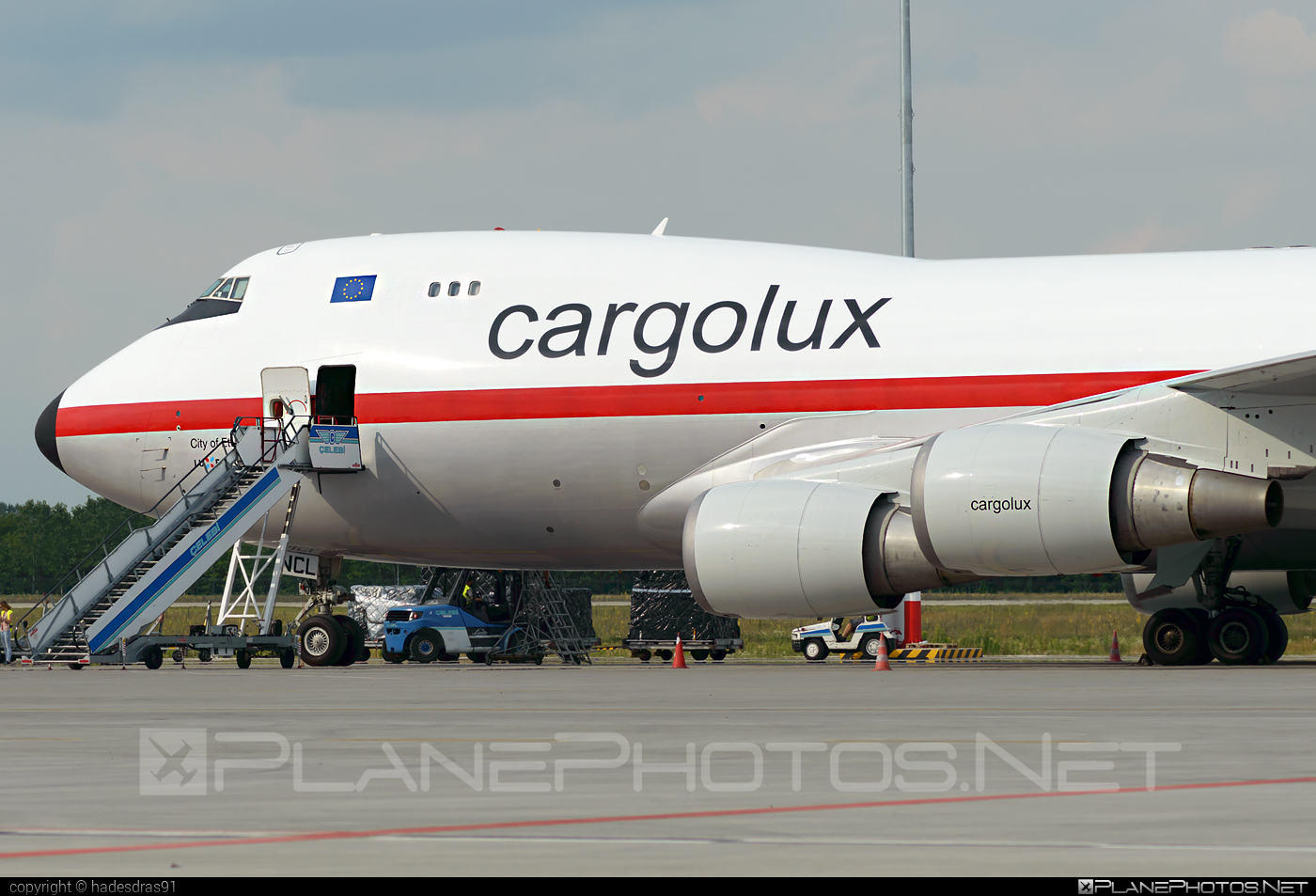 Boeing 747-400ERF - LX-NCL operated by Cargolux Airlines International #b747 #b747erf #b747freighter #boeing #boeing747 #cargolux #jumbo
