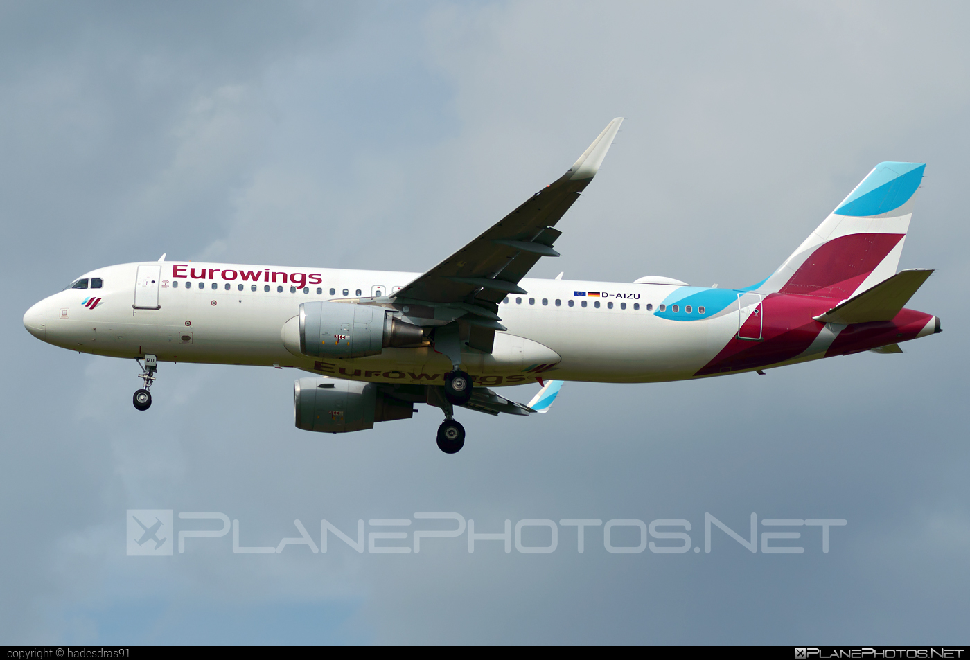 Airbus A320-214 - D-AIZU operated by Eurowings #a320 #a320family #airbus #airbus320 #eurowings