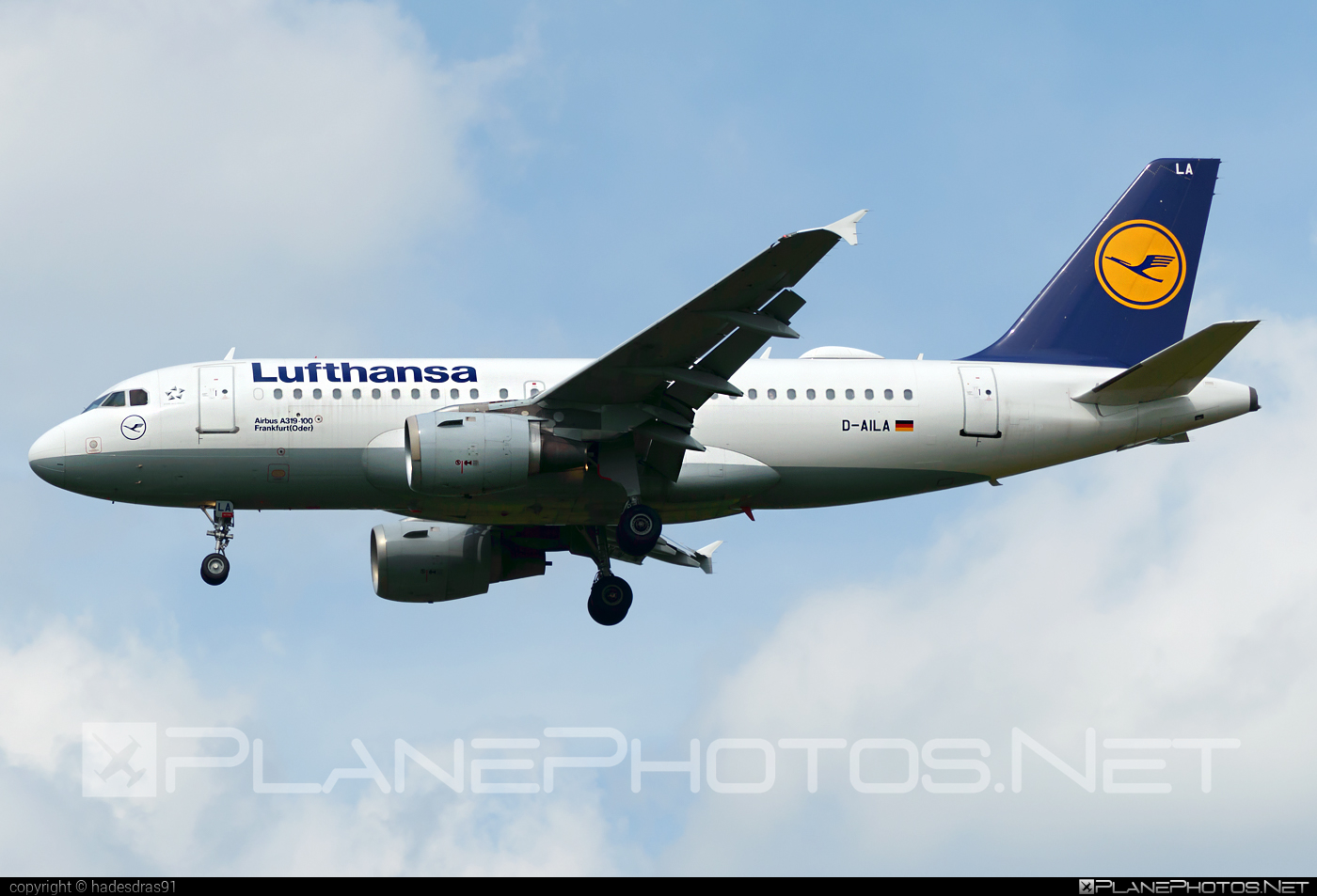 Airbus A319-114 - D-AILA operated by Lufthansa #a319 #a320family #airbus #airbus319 #lufthansa