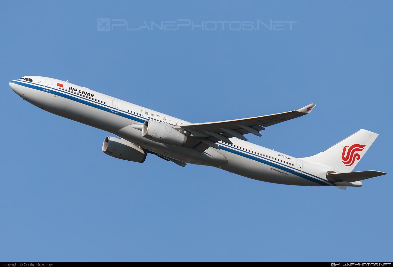 Airbus A330-343 - B-5946 operated by Air China #a330 #a330family #airbus #airbus330 #airchina