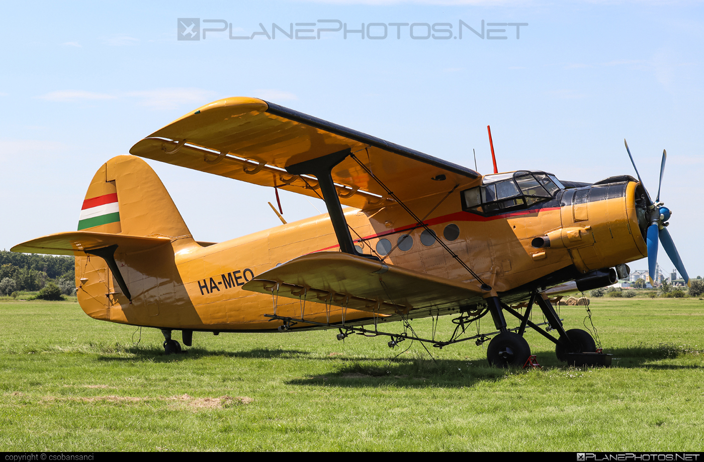 PZL-Mielec An-2R - HA-MEO operated by Air Service Hungary #airservicehungary #an2 #an2r #antonov2 #pzl #pzlmielec