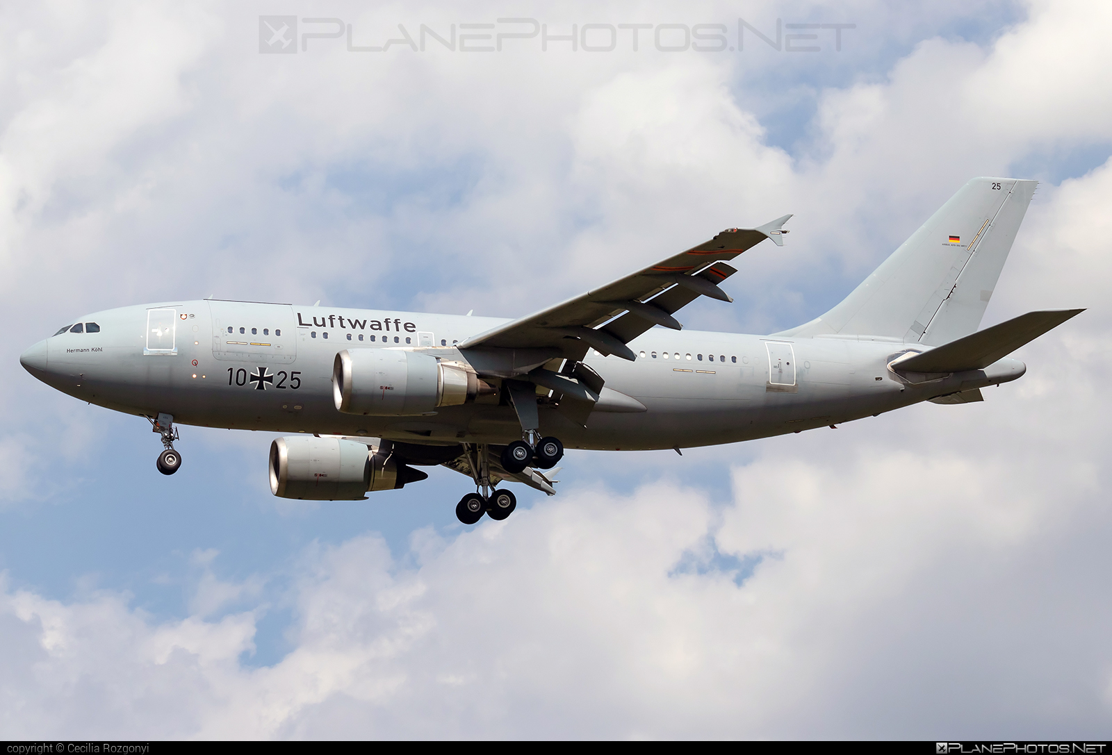 Airbus A310-304MRTT - 10+25 operated by Luftwaffe (German Air Force) #a310 #airbus