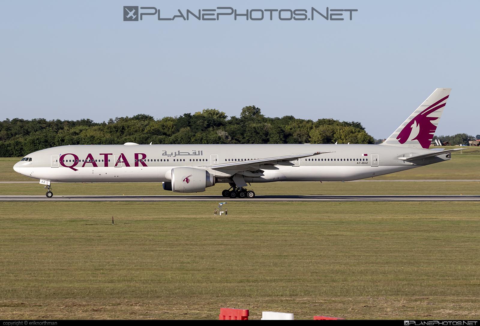Boeing 777-300ER - A7-BAZ operated by Qatar Airways #b777 #b777er #boeing #boeing777 #qatarairways #tripleseven