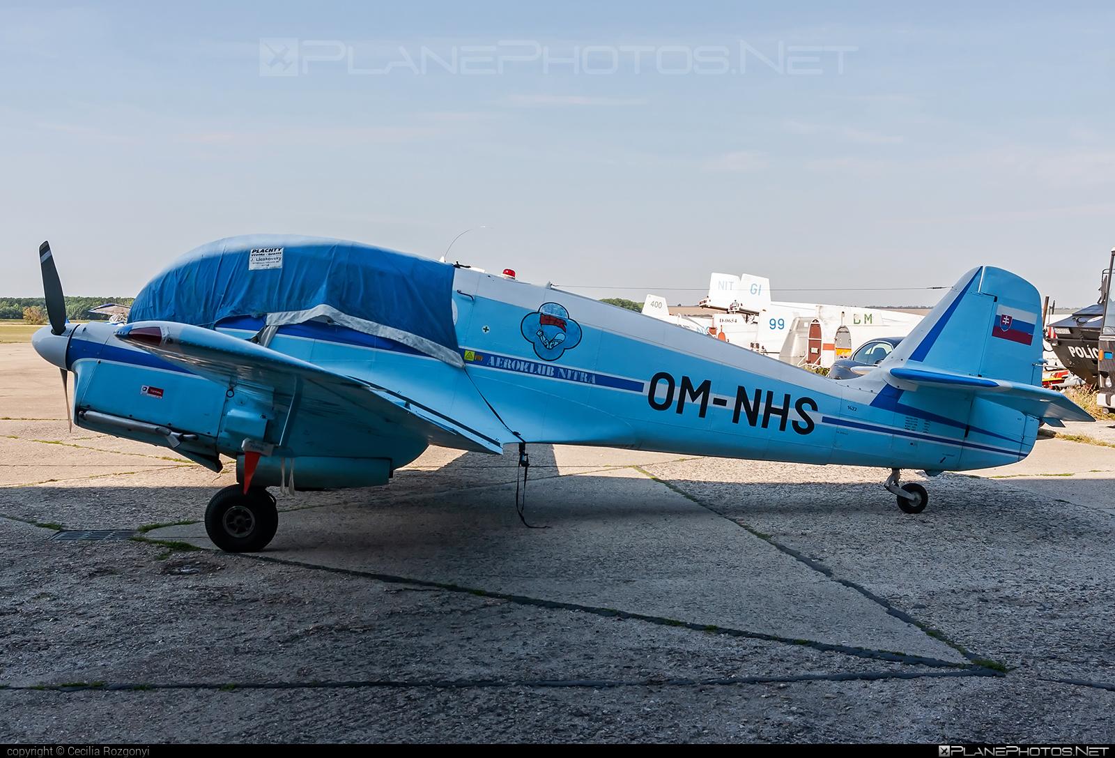 Aero Ae-145 - OM-NHS operated by Slovenský národný aeroklub (Slovak National Aeroclub) #aero