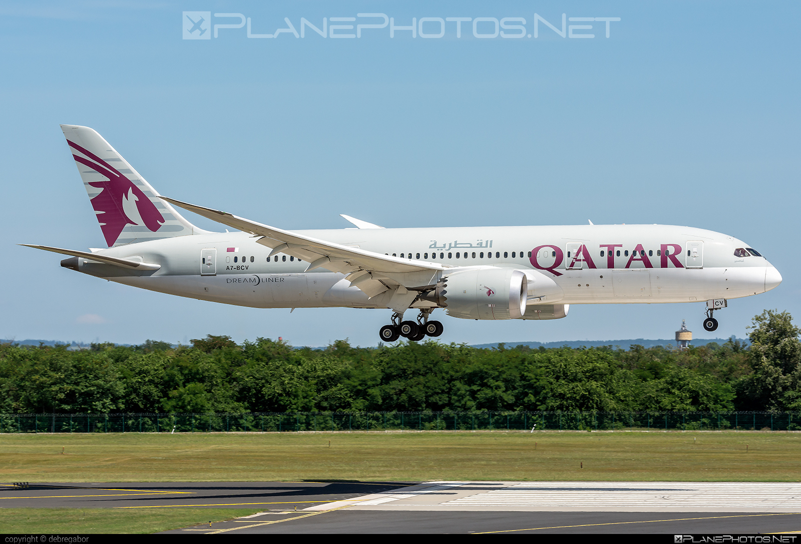 Boeing 787-8 Dreamliner - A7-BCV operated by Qatar Airways #b787 #boeing #boeing787 #dreamliner #qatarairways