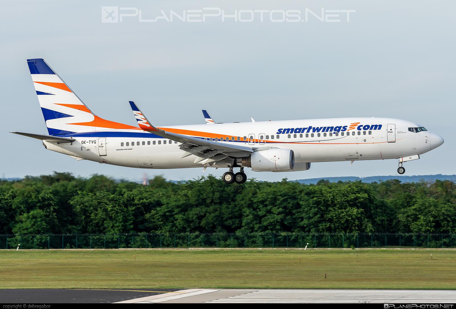 Boeing 737-800 - OK-TVG operated by Smart Wings #b737 #b737nextgen #b737ng #boeing #boeing737 #smartwings