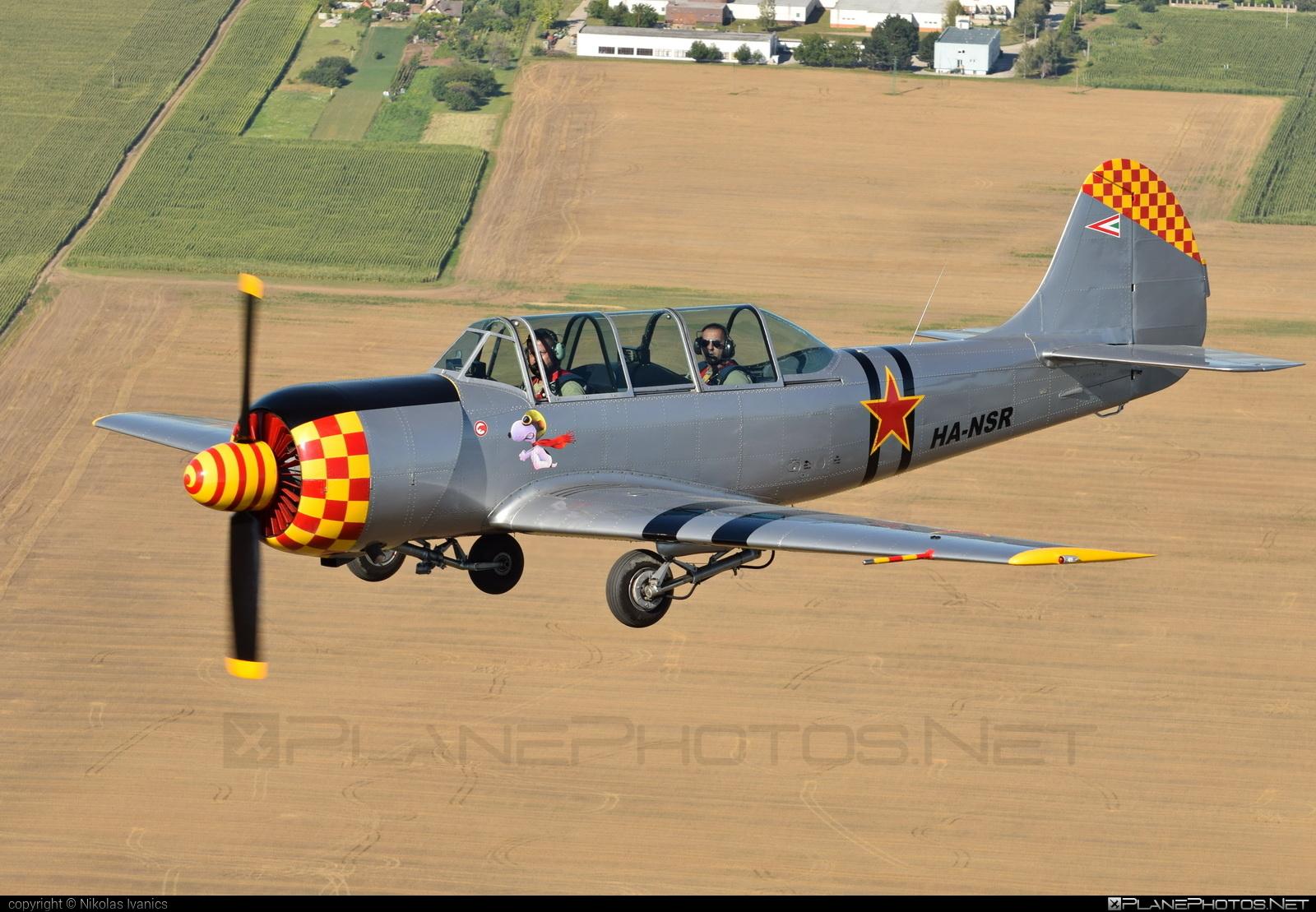Aerostar Iak-52 - HA-NSR operated by Private operator #iak52 #yak52