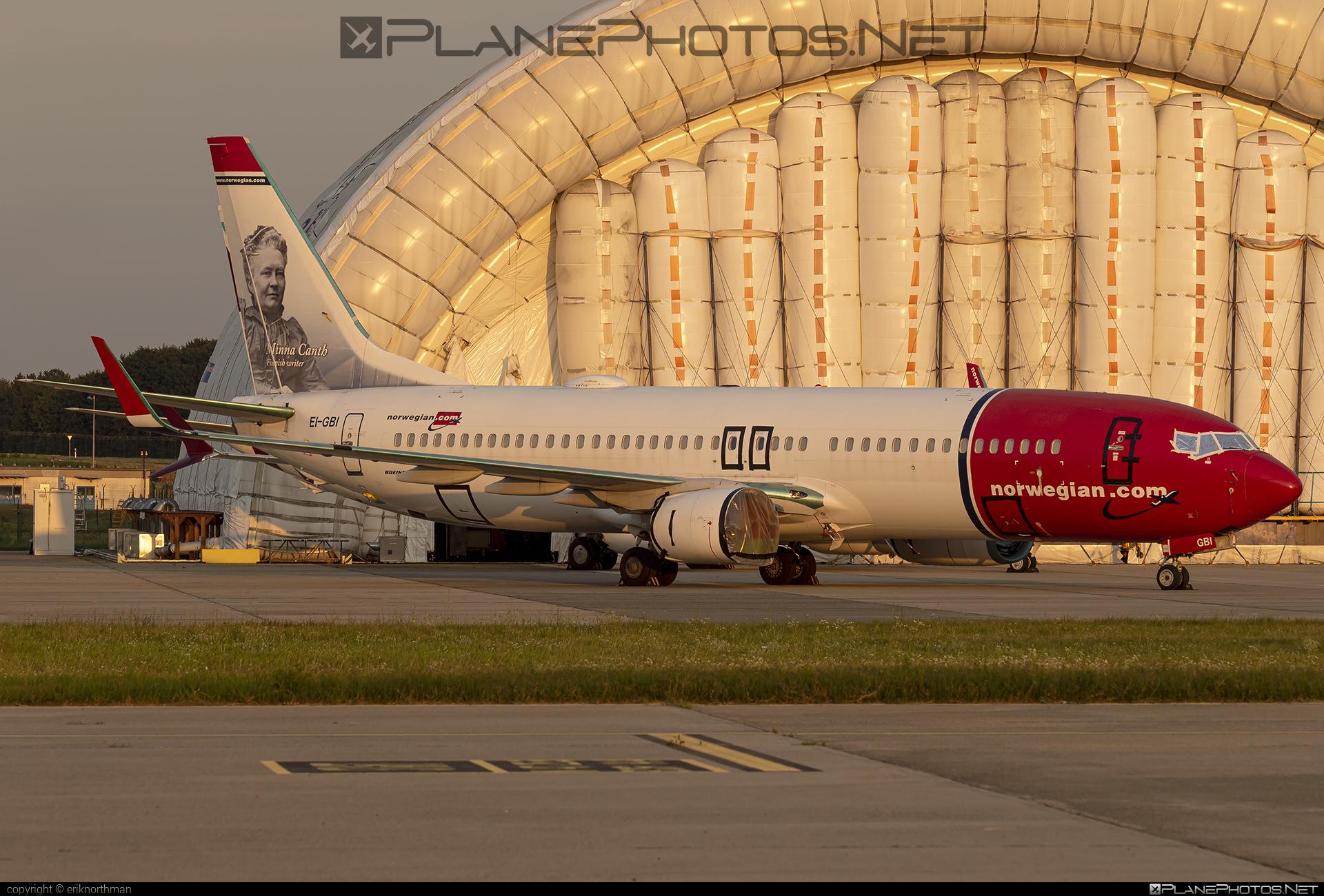 Boeing 737-800 - EI-GBI operated by Norwegian Air International #b737 #b737nextgen #b737ng #boeing #boeing737 #norwegian #norwegianair #norwegianairinternational