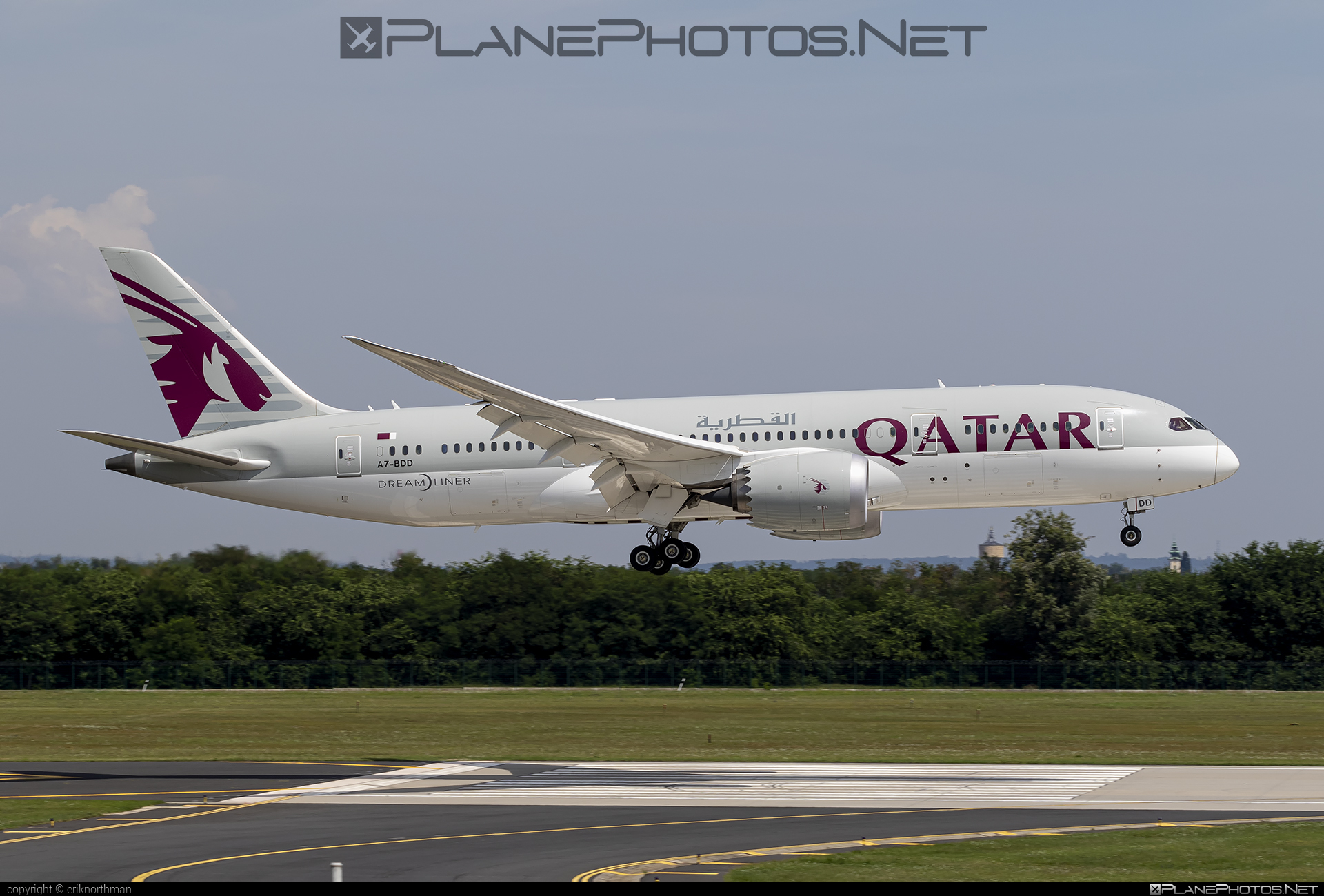 Boeing 787-8 Dreamliner - A7-BDD operated by Qatar Airways #b787 #boeing #boeing787 #dreamliner #qatarairways