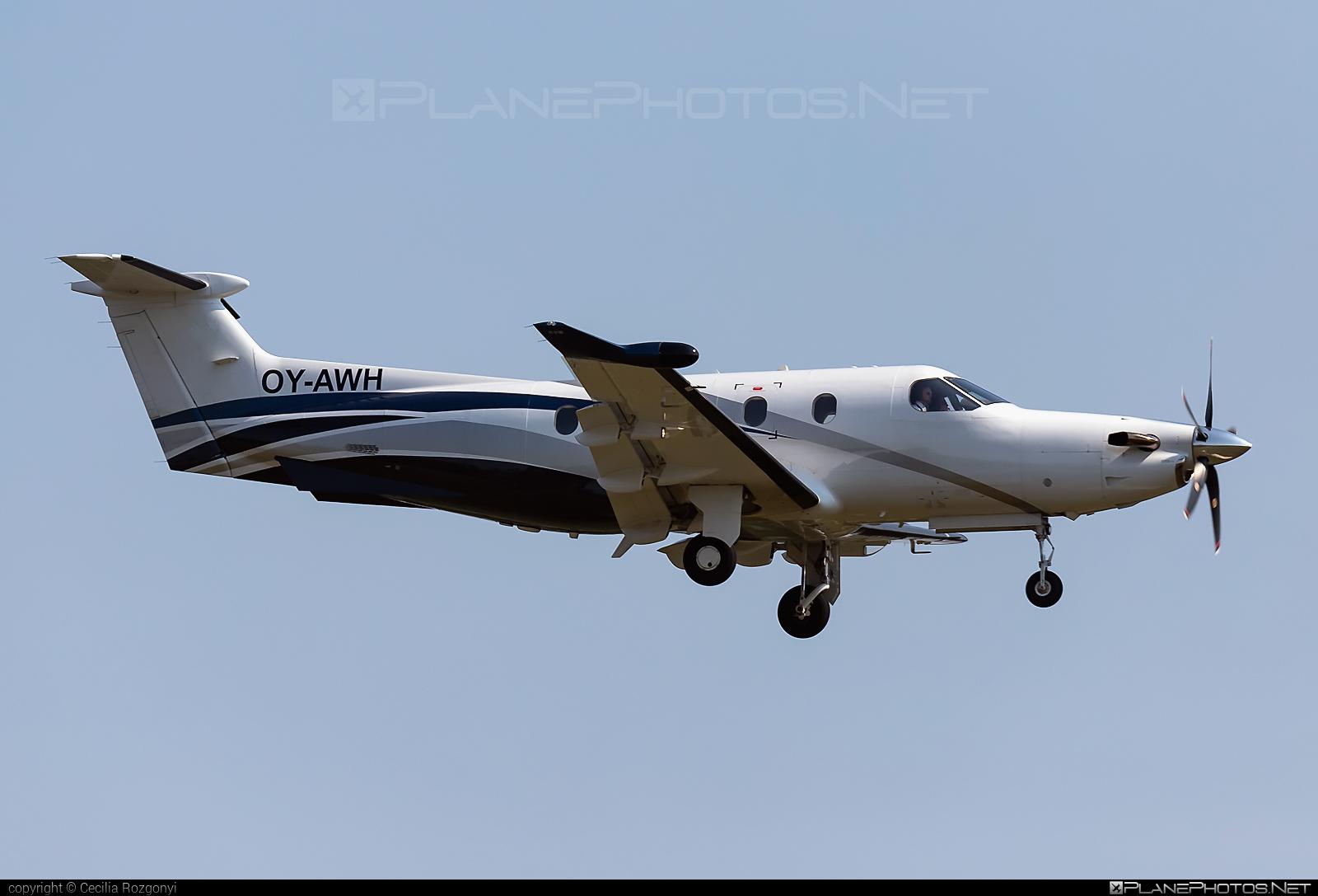 Pilatus PC-12/47E - OY-AWH operated by Private operator #pilatus