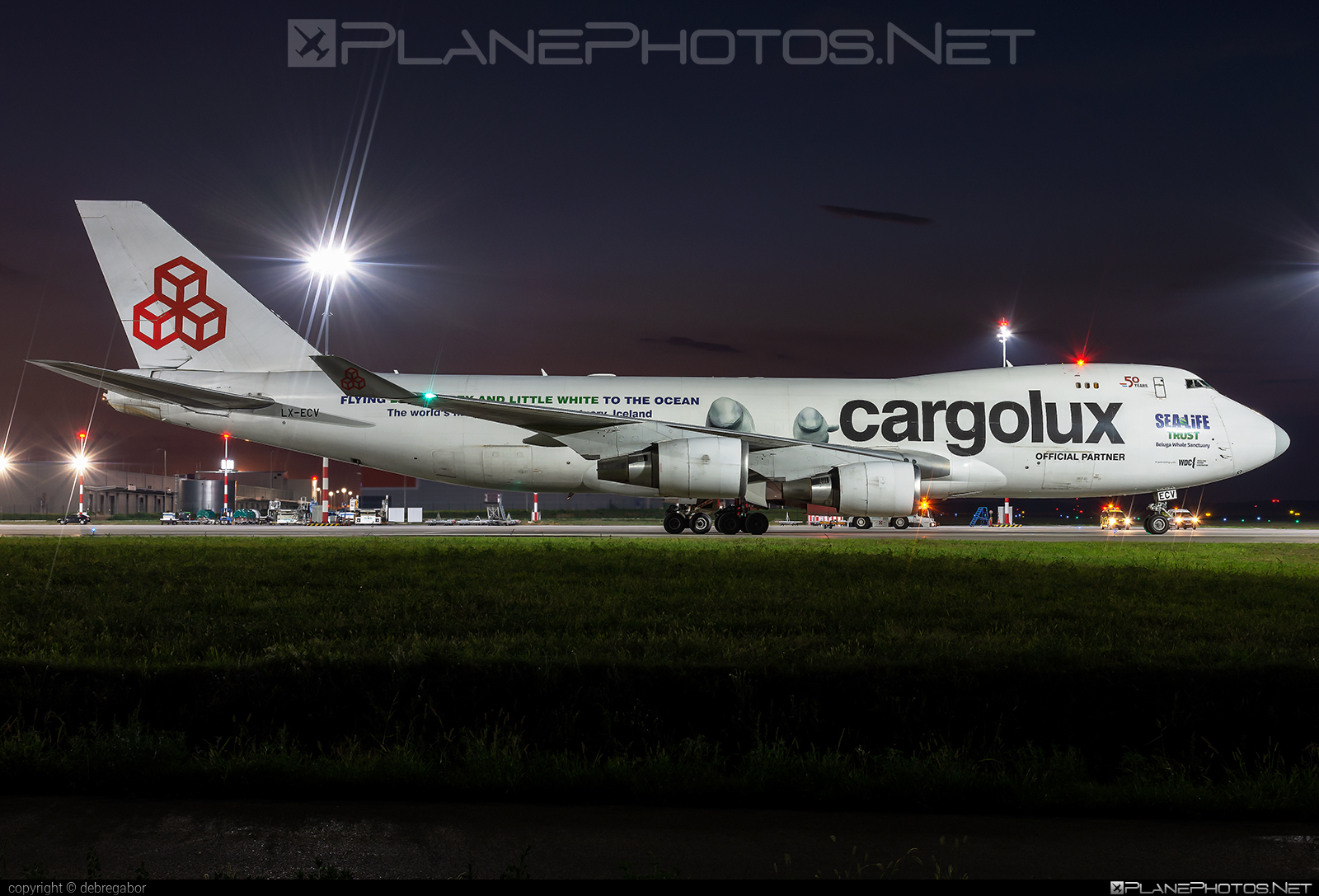 Boeing 747-400ER - LX-ECV operated by Cargolux Airlines International #b747 #boeing #boeing747 #cargolux #jumbo