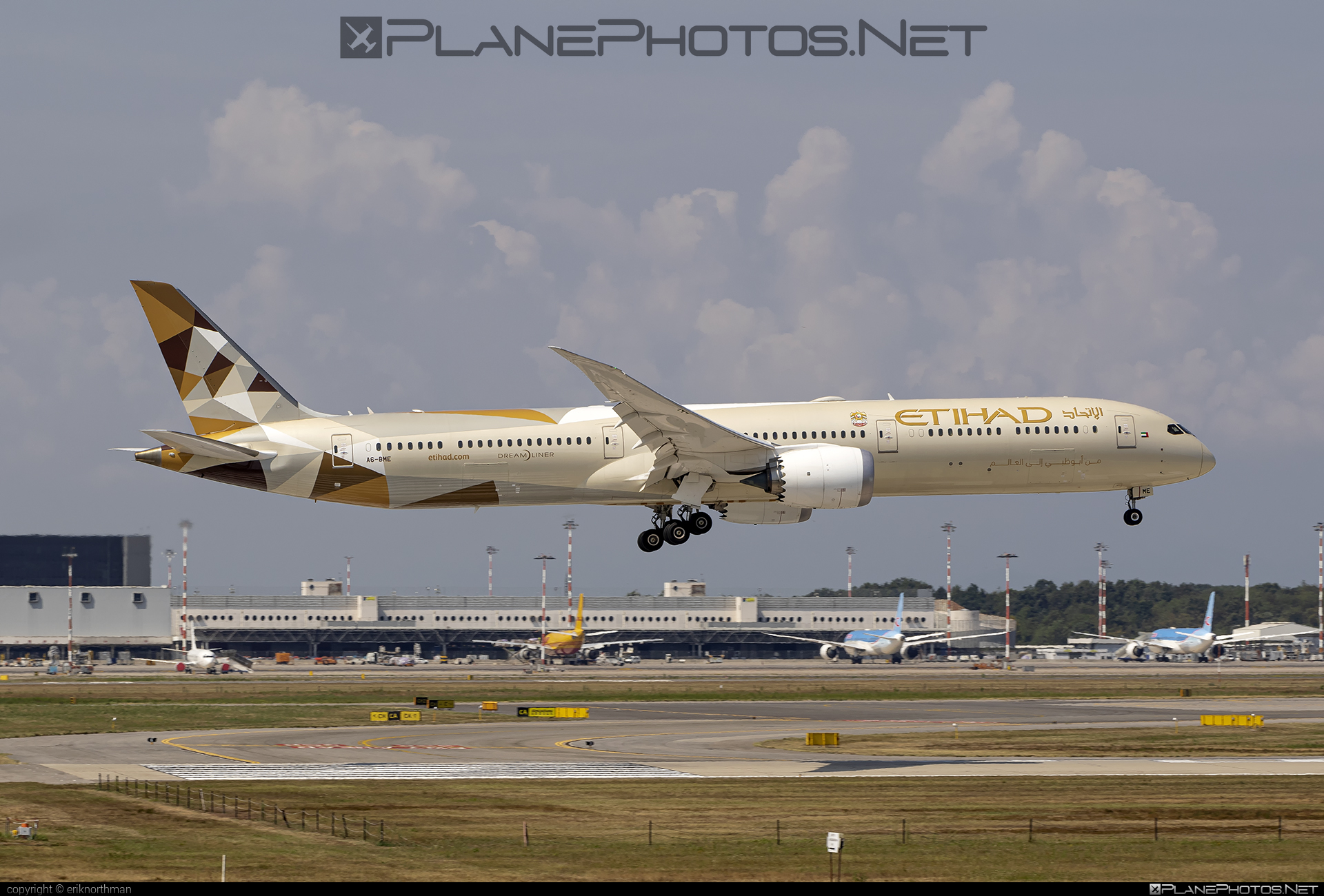 Boeing 787-10 Dreamliner - A6-BME operated by Etihad Airways #b787 #boeing #boeing787 #dreamliner #etihad #etihadairways