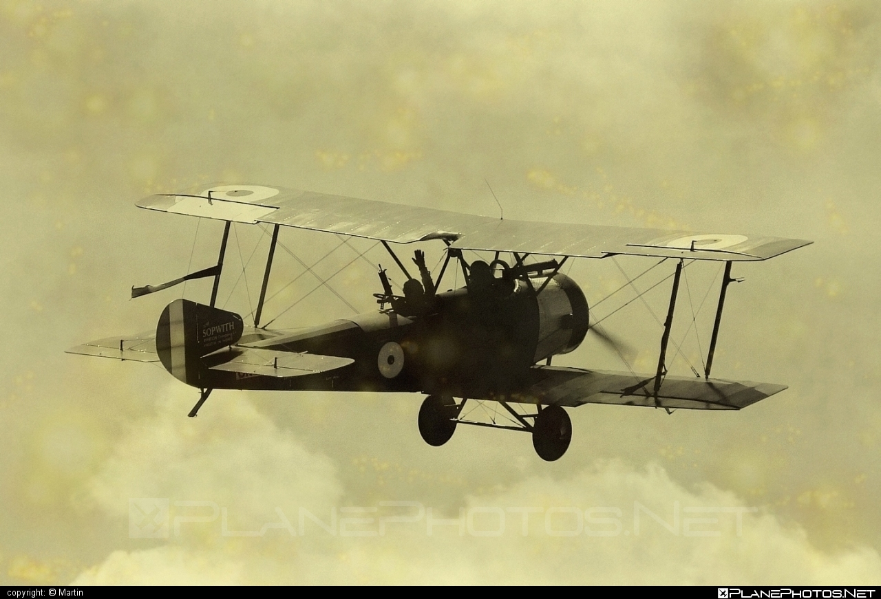 Sopwith 1½ Strutter - OK-NUP 01 operated by Private operator #sopwith